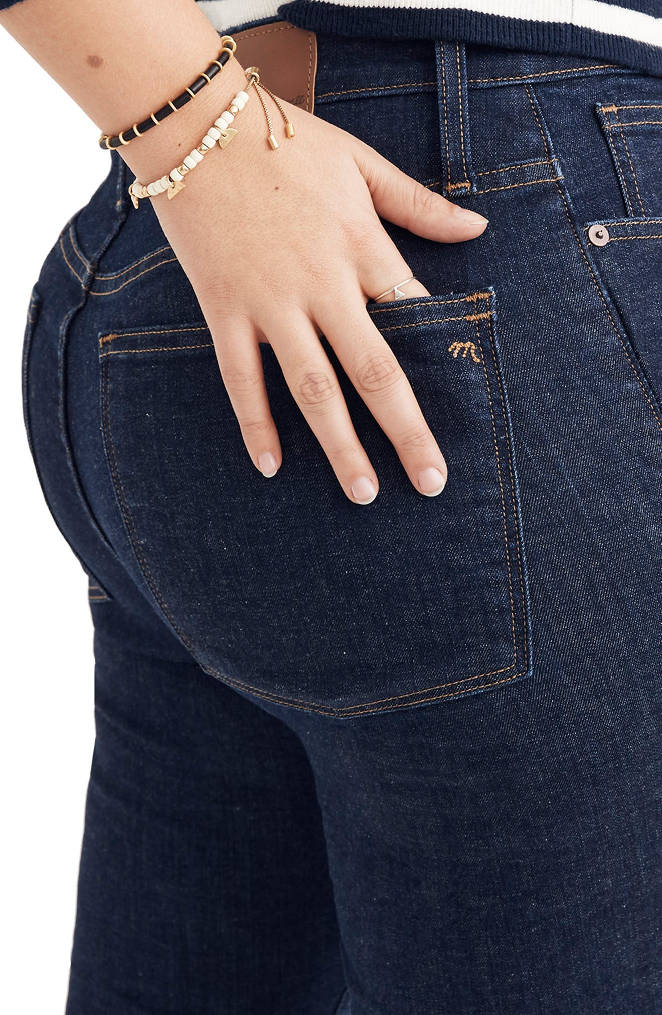 Curvy High Waist Skinny Jeans,                             Alternate thumbnail 10, color,                             LUCILLE WASH