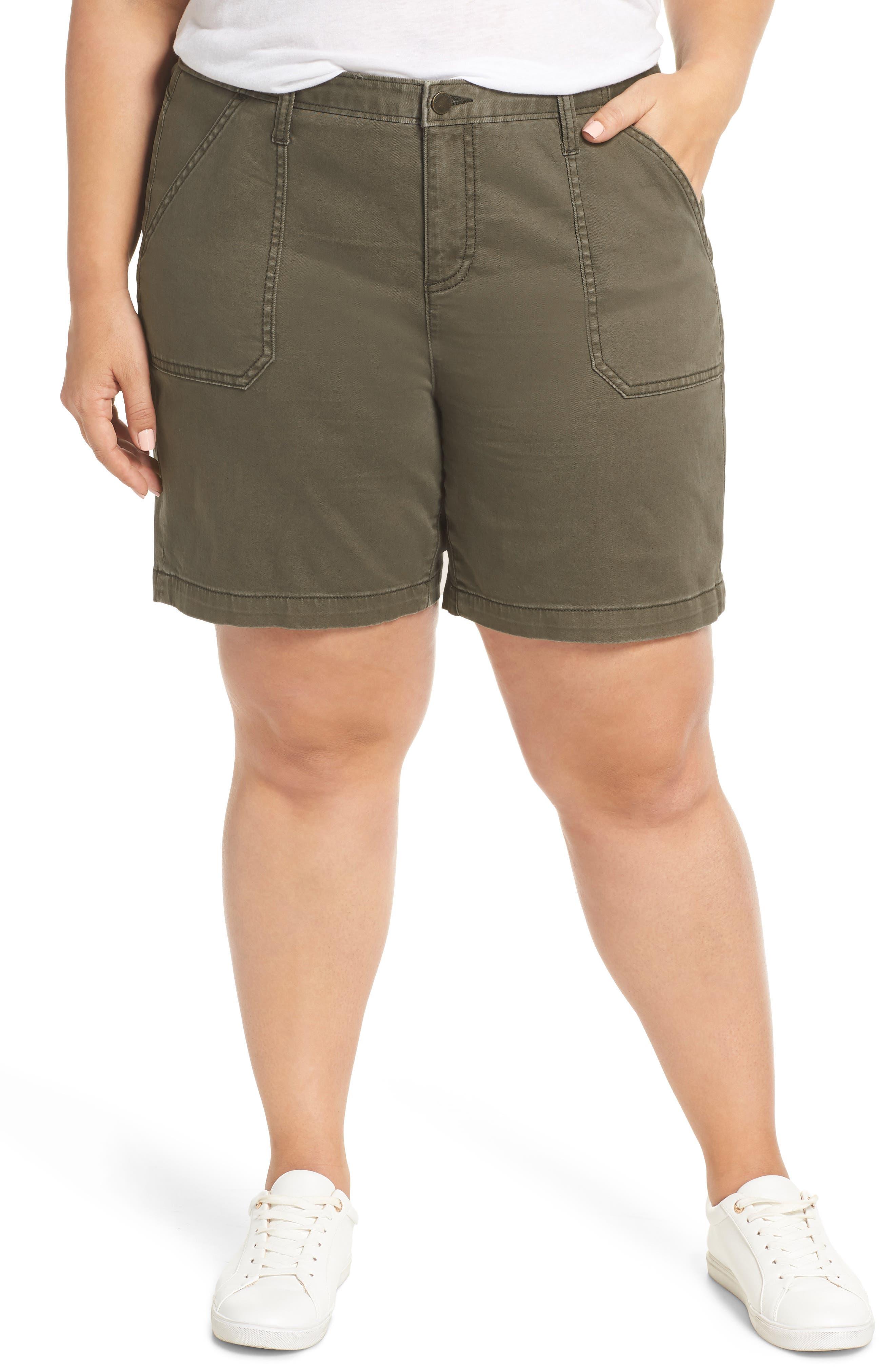 Utility Shorts, Main, color, OLIVE SARMA