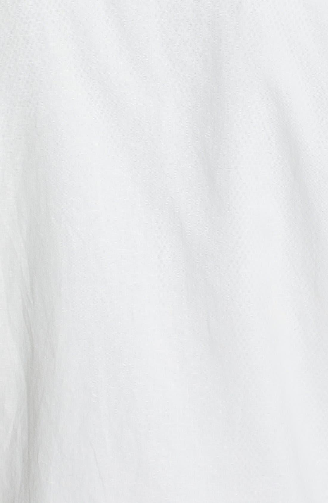 Cotton & Linen Coach Jacket,                             Alternate thumbnail 4, color,                             100
