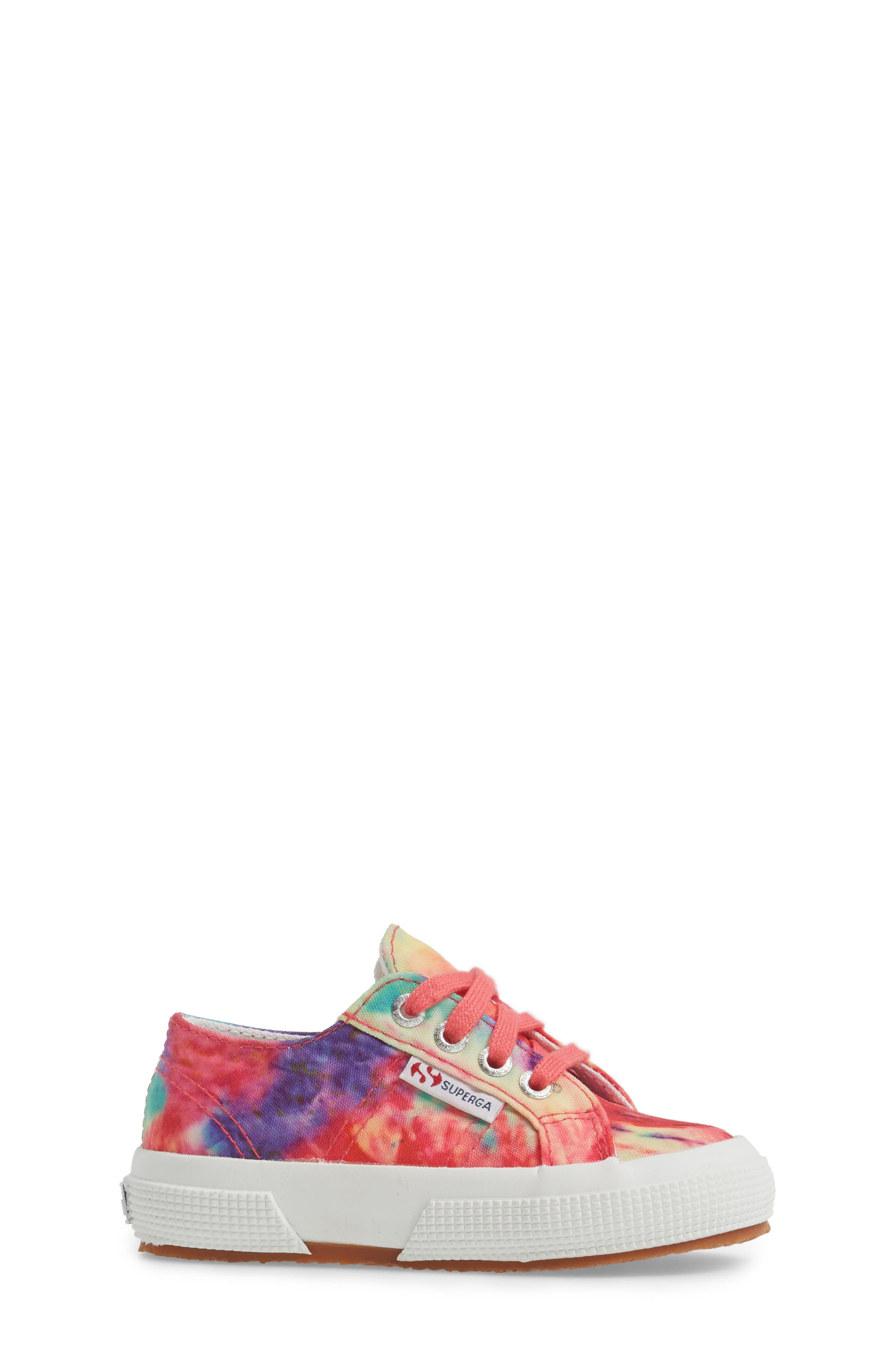 Tie Dye Classic Sneaker,                             Alternate thumbnail 3, color,                             807