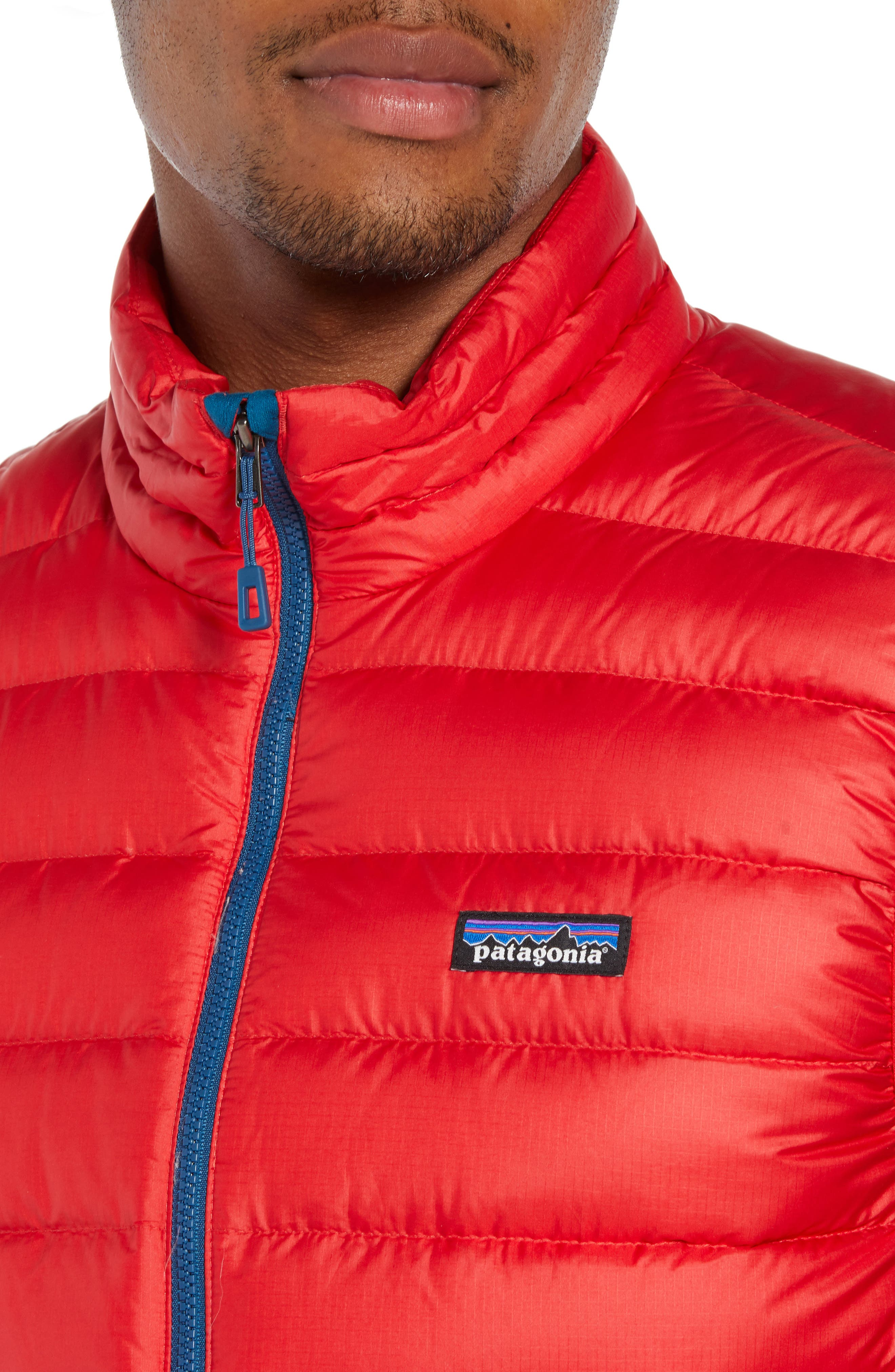 Windproof & Water Resistant 800 Fill Power Down Quilted Vest,                             Alternate thumbnail 32, color,