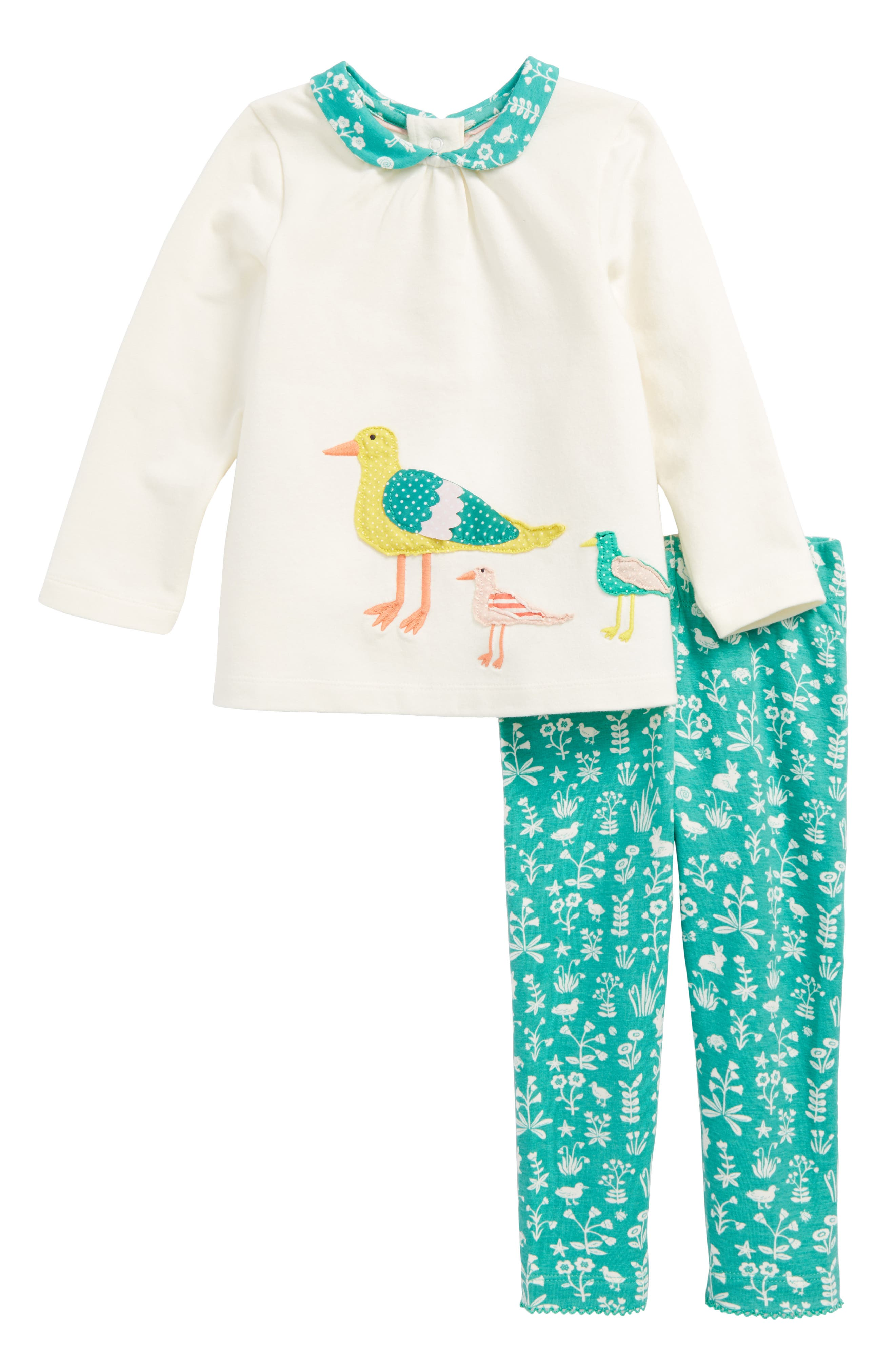 Animal Appliqué Top & Leggings Play Set,                         Main,                         color,