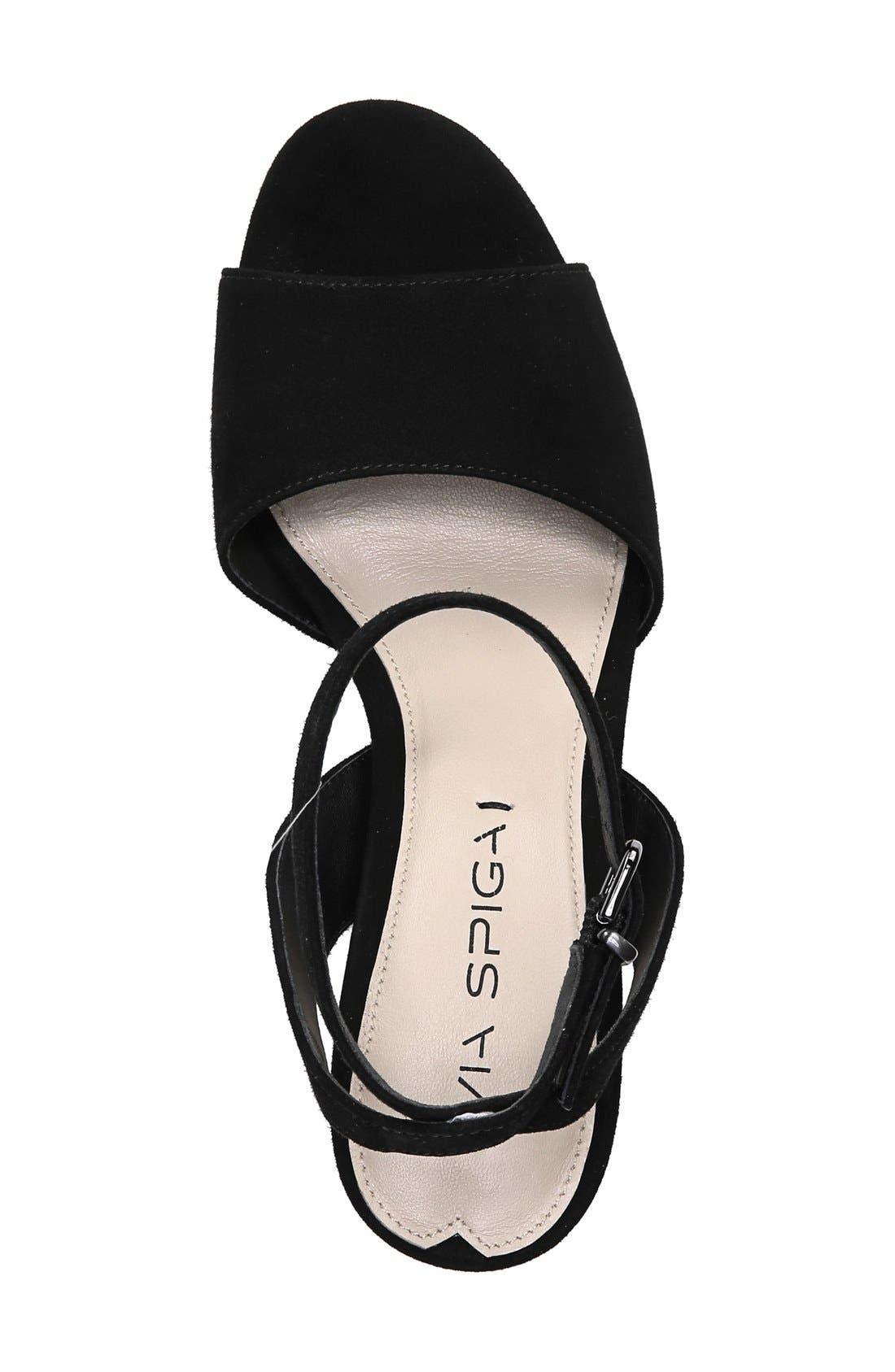 'Piper' Ankle Strap Sandal,                             Alternate thumbnail 2, color,                             003