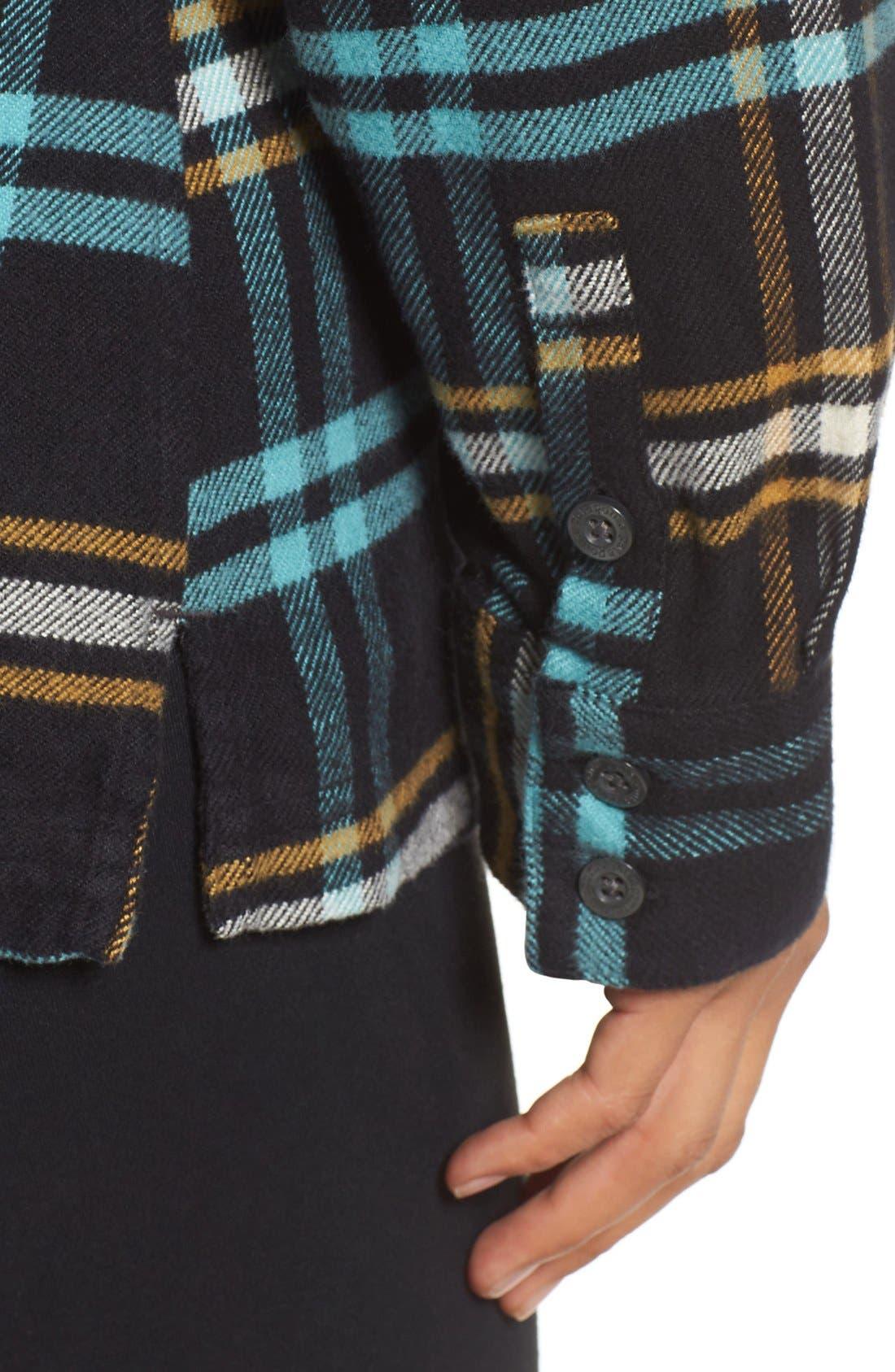 'Fjord' Flannel Shirt,                             Alternate thumbnail 4, color,                             002