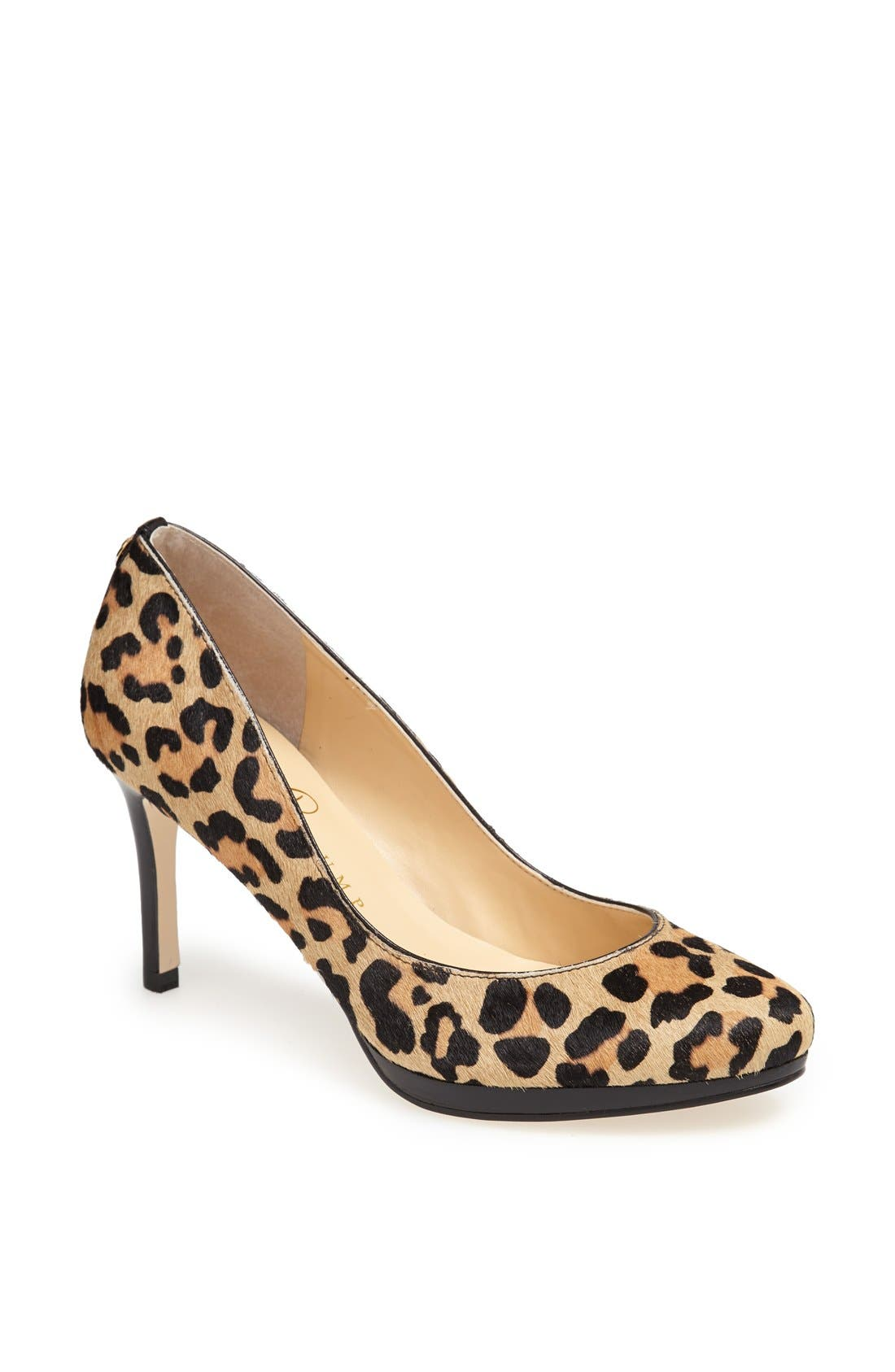 IVANKA TRUMP 'Sophia' Calf Hair Platform Pump, Main, color, 900