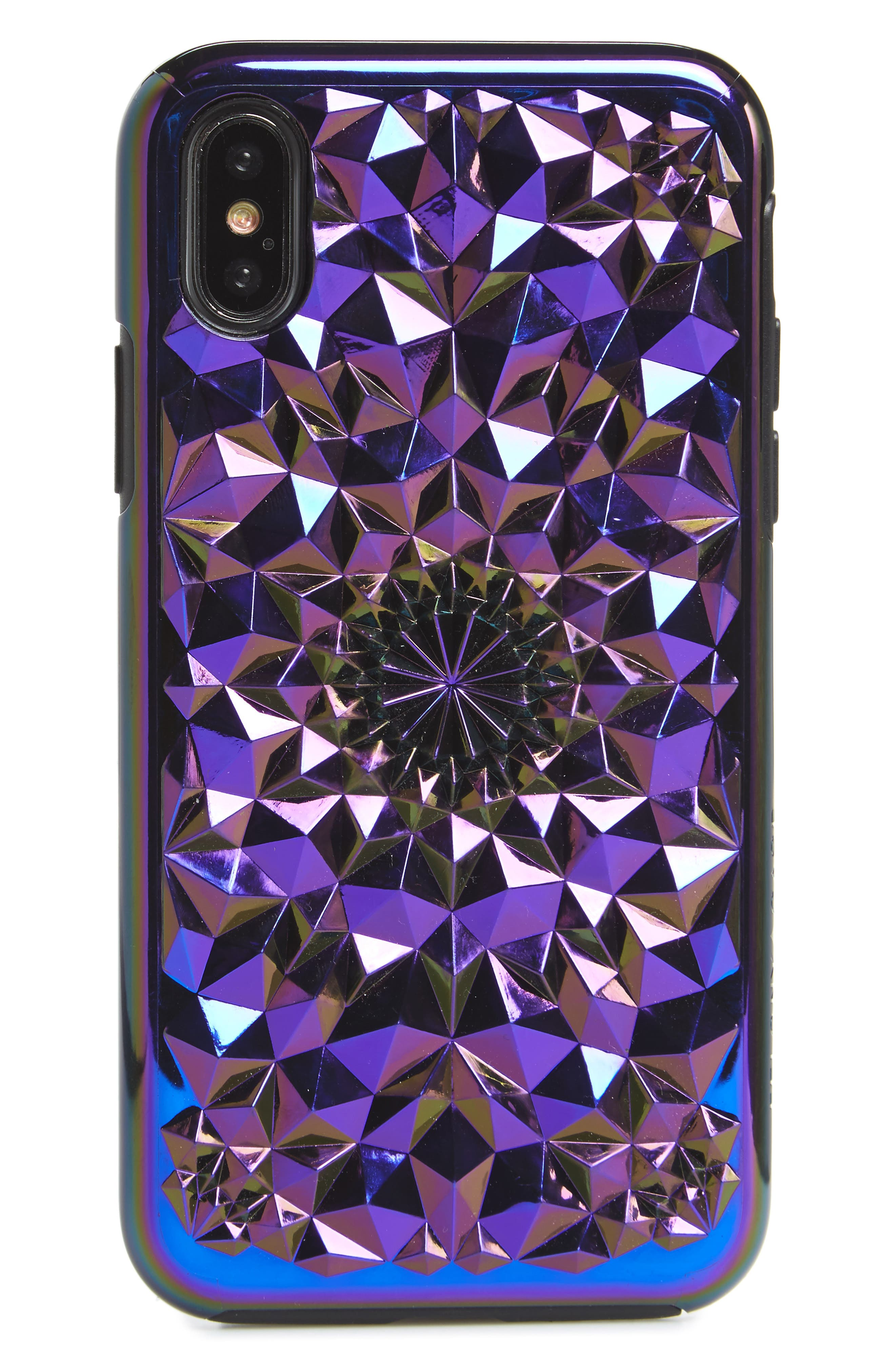 Cosmic Kaleidoscope iPhone X Case,                         Main,                         color, 400