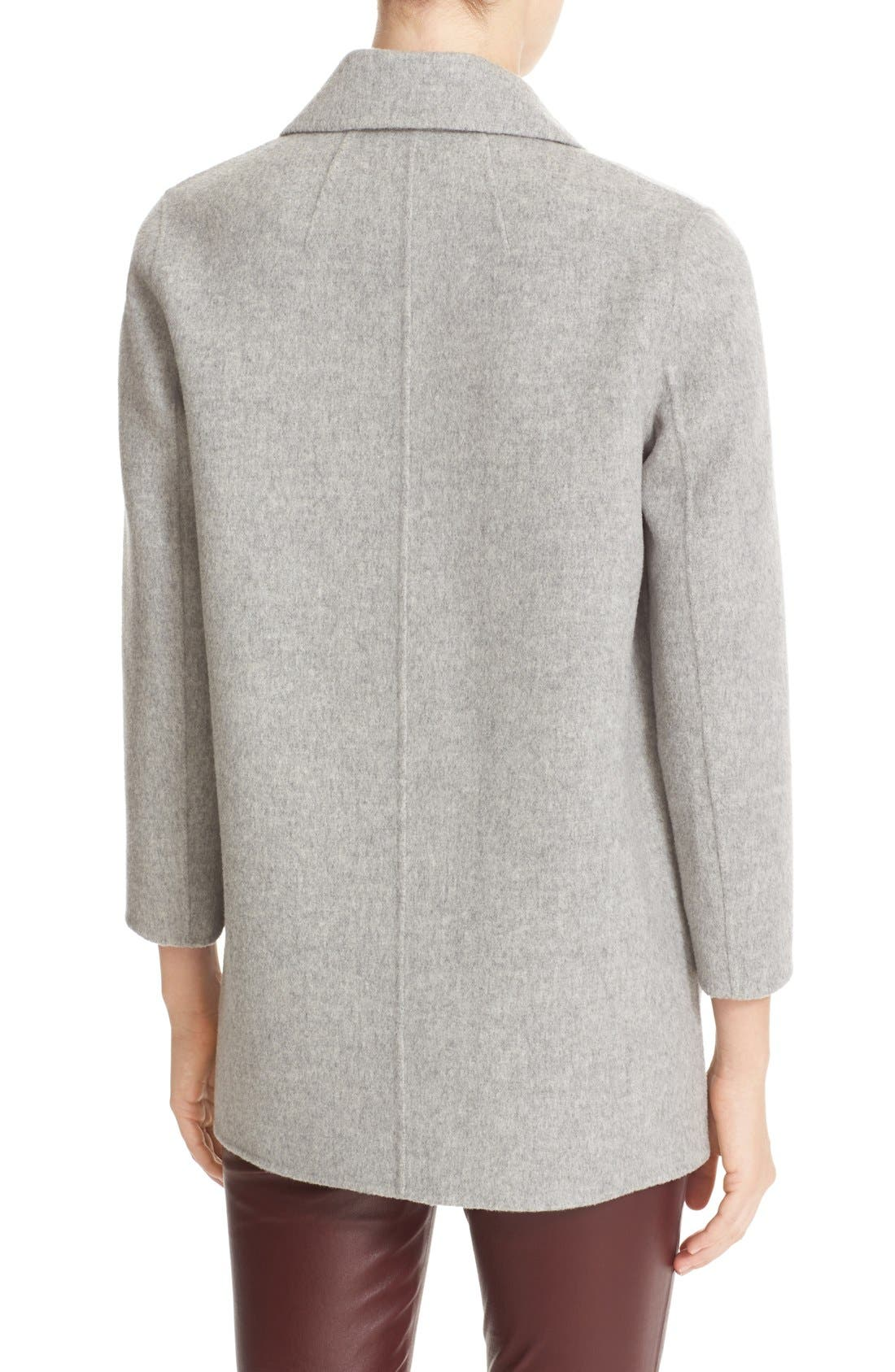'Clairene New Divide' Wool & Cashmere Open Front Topper,                             Alternate thumbnail 2, color,                             097