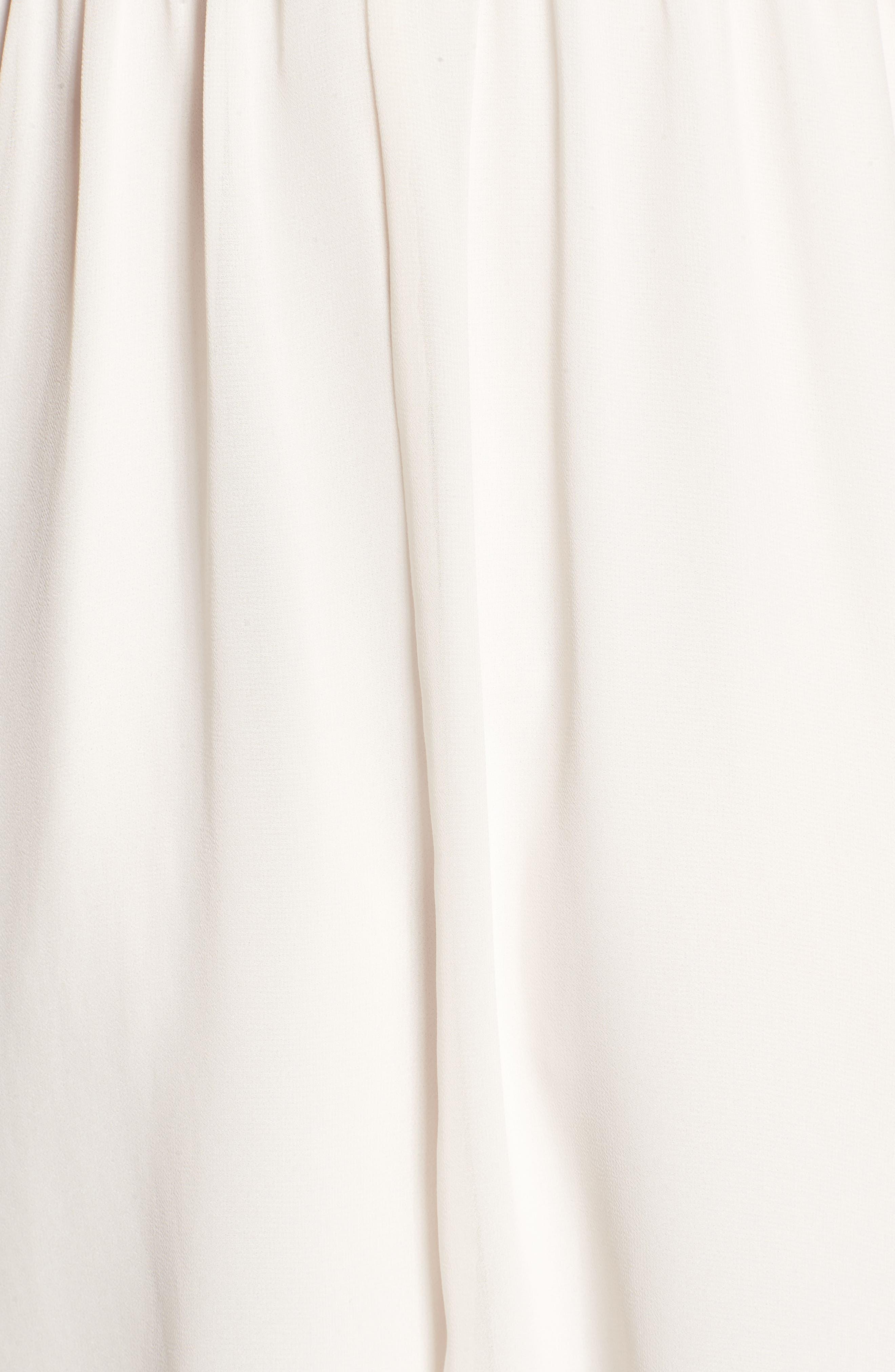 Blouson Chiffon Skater Dress,                             Alternate thumbnail 240, color,