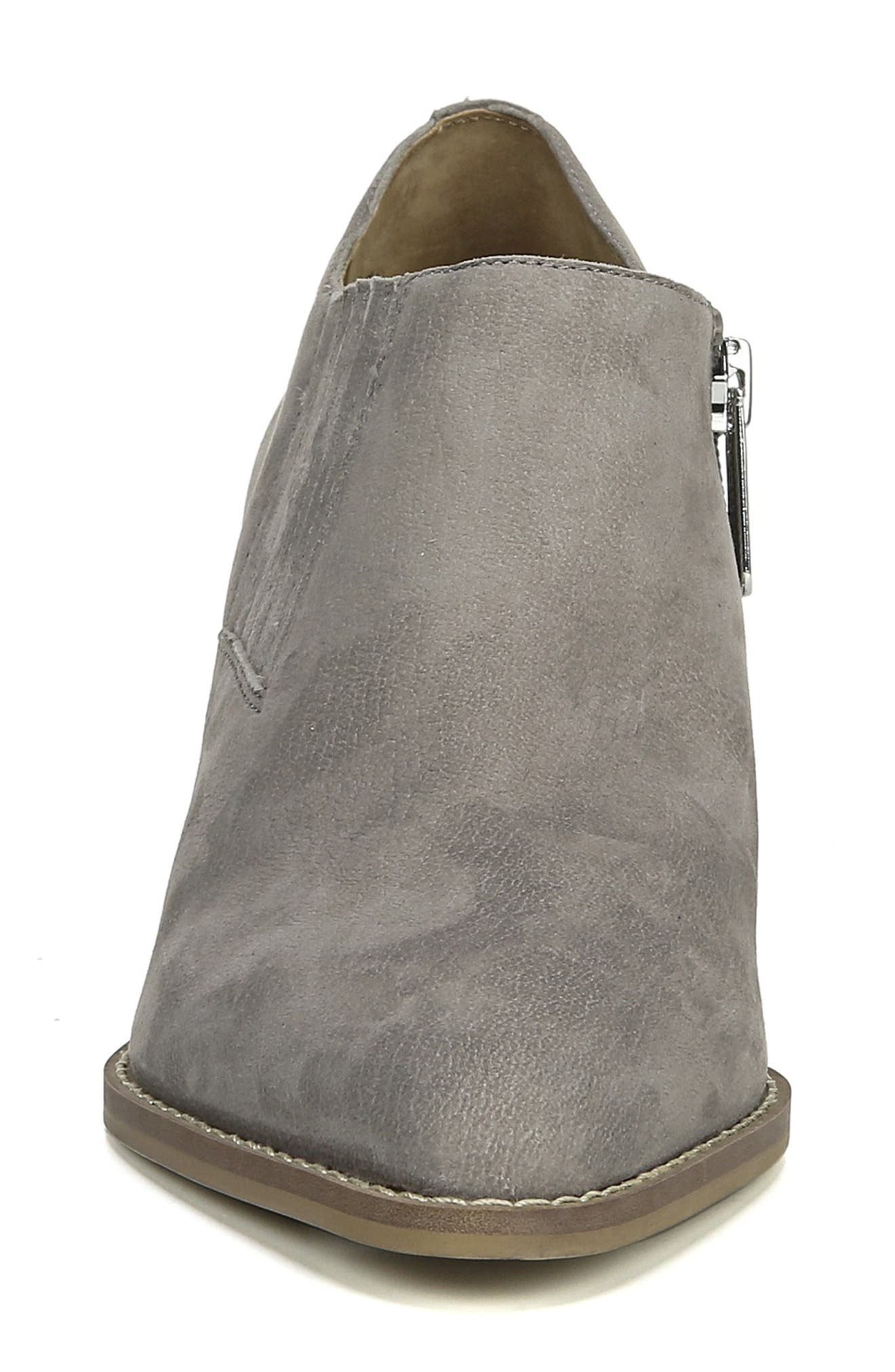 Camella Bootie,                             Alternate thumbnail 4, color,                             GREYSTONE NUBUCK LEATHER