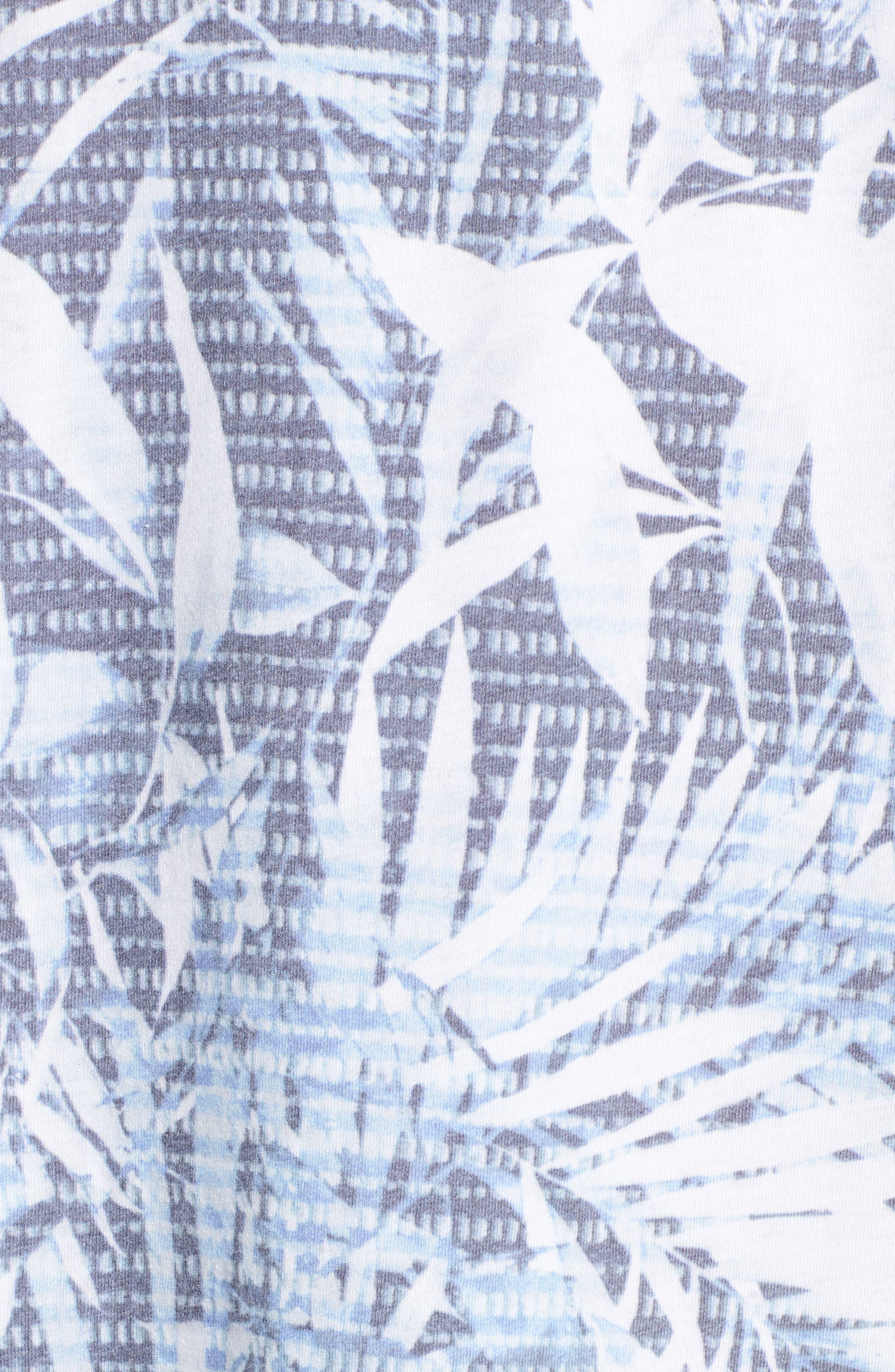 Twilight Floral T-Shirt,                             Alternate thumbnail 5, color,                             400