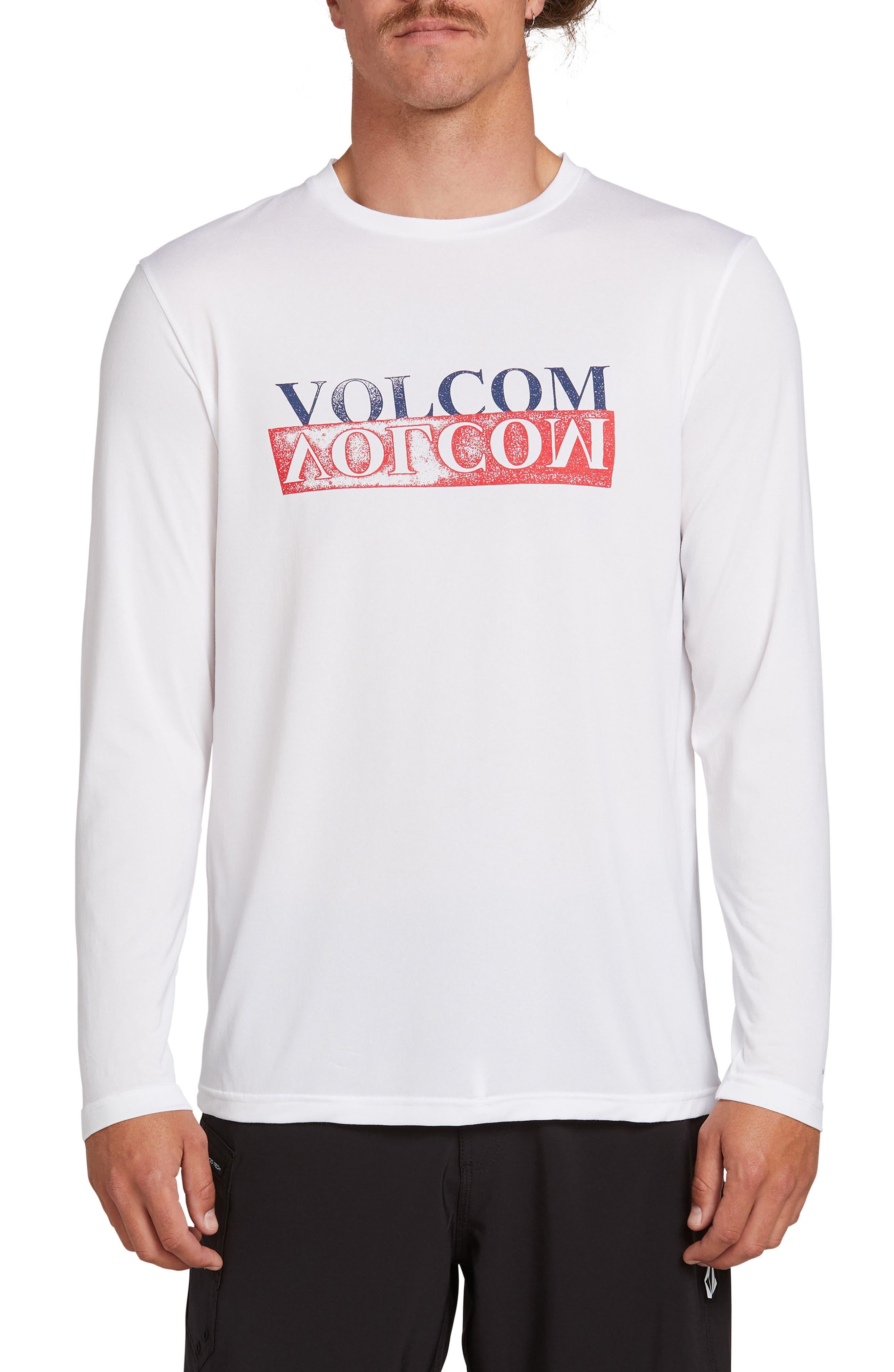 Volcom Effect Long Sleeve T-Shirt, White