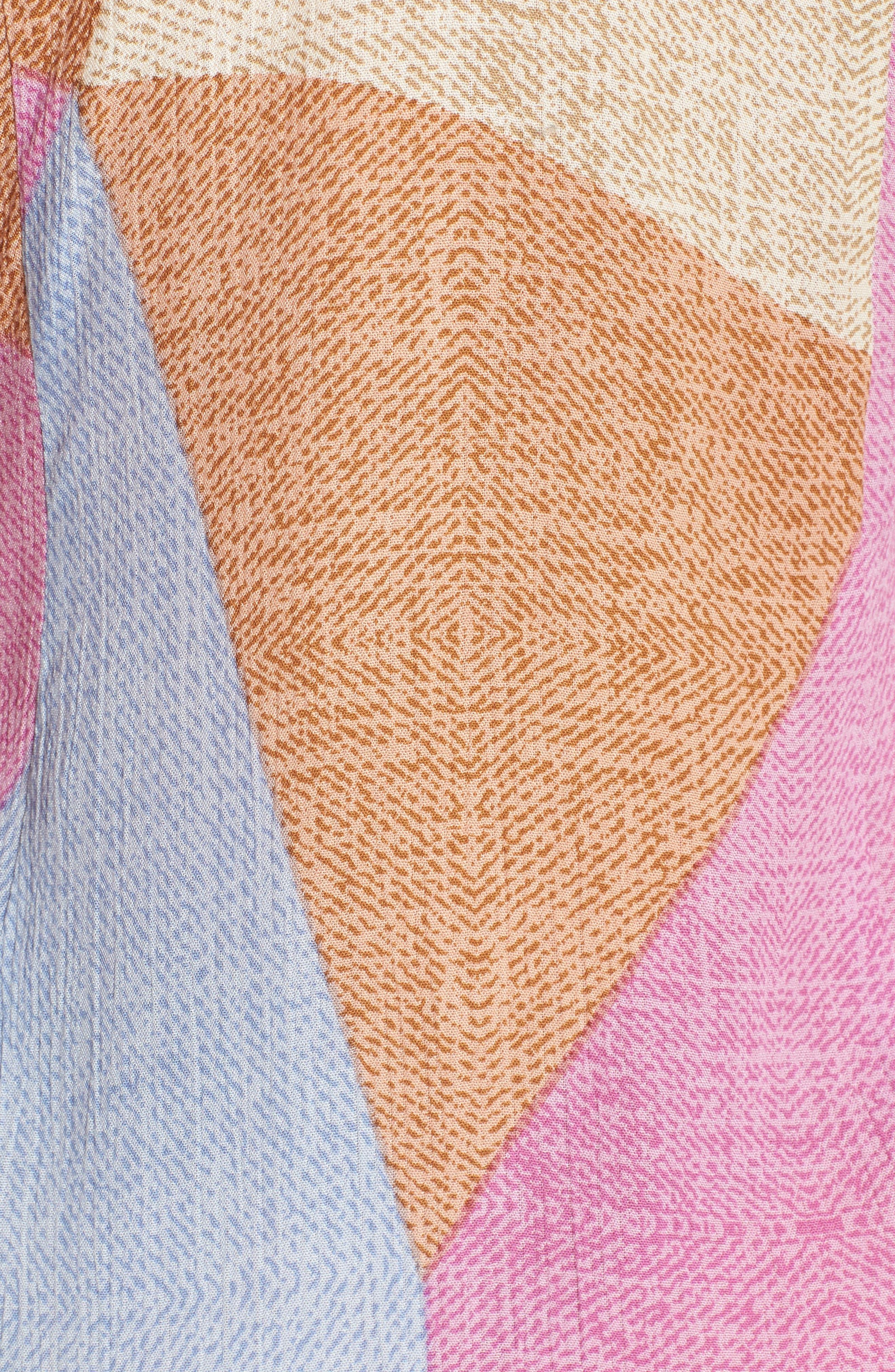 Marlo Wrap Dress,                             Alternate thumbnail 5, color,                             650