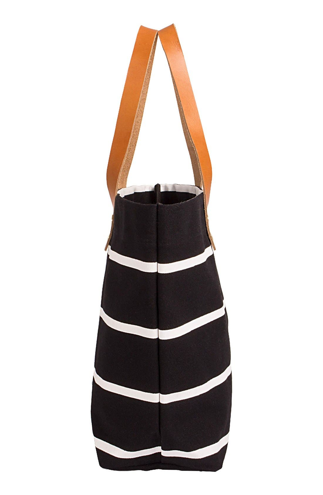 Monogram Stripe Tote,                             Alternate thumbnail 541, color,