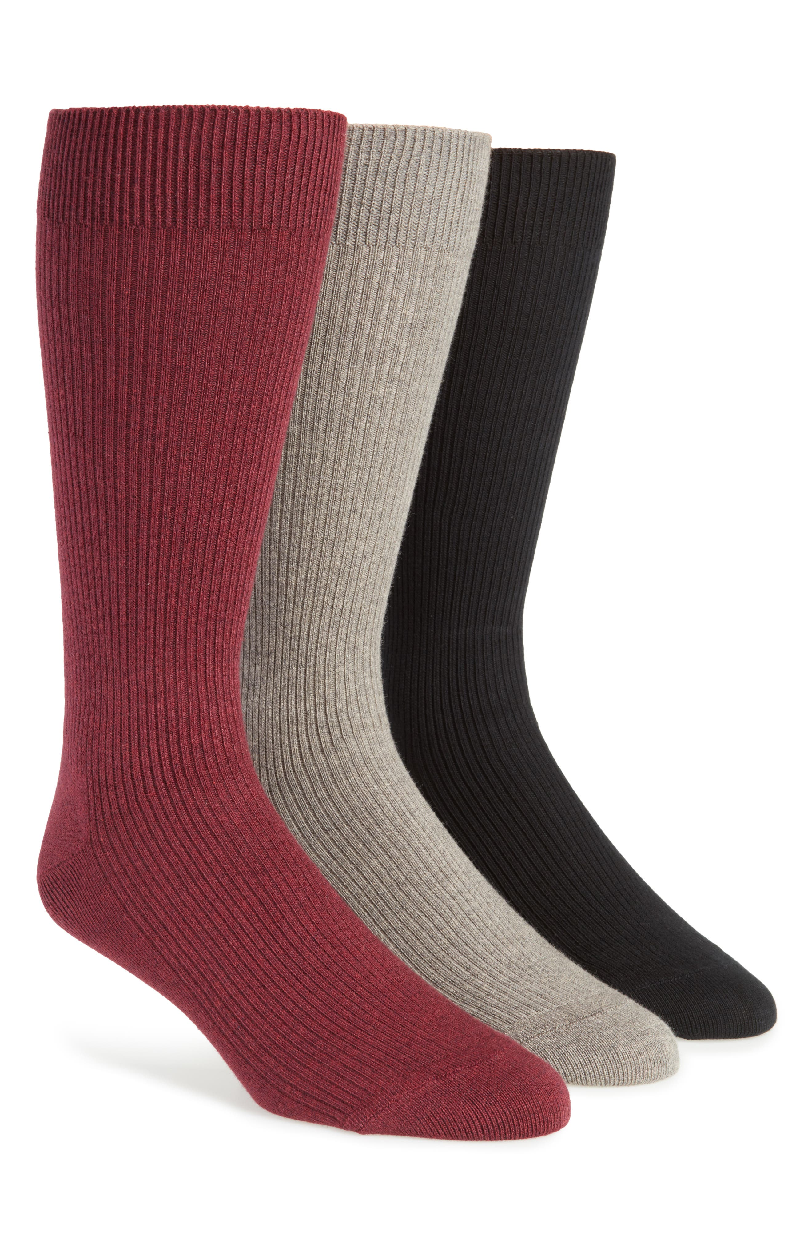3-Pack Socks,                             Main thumbnail 3, color,