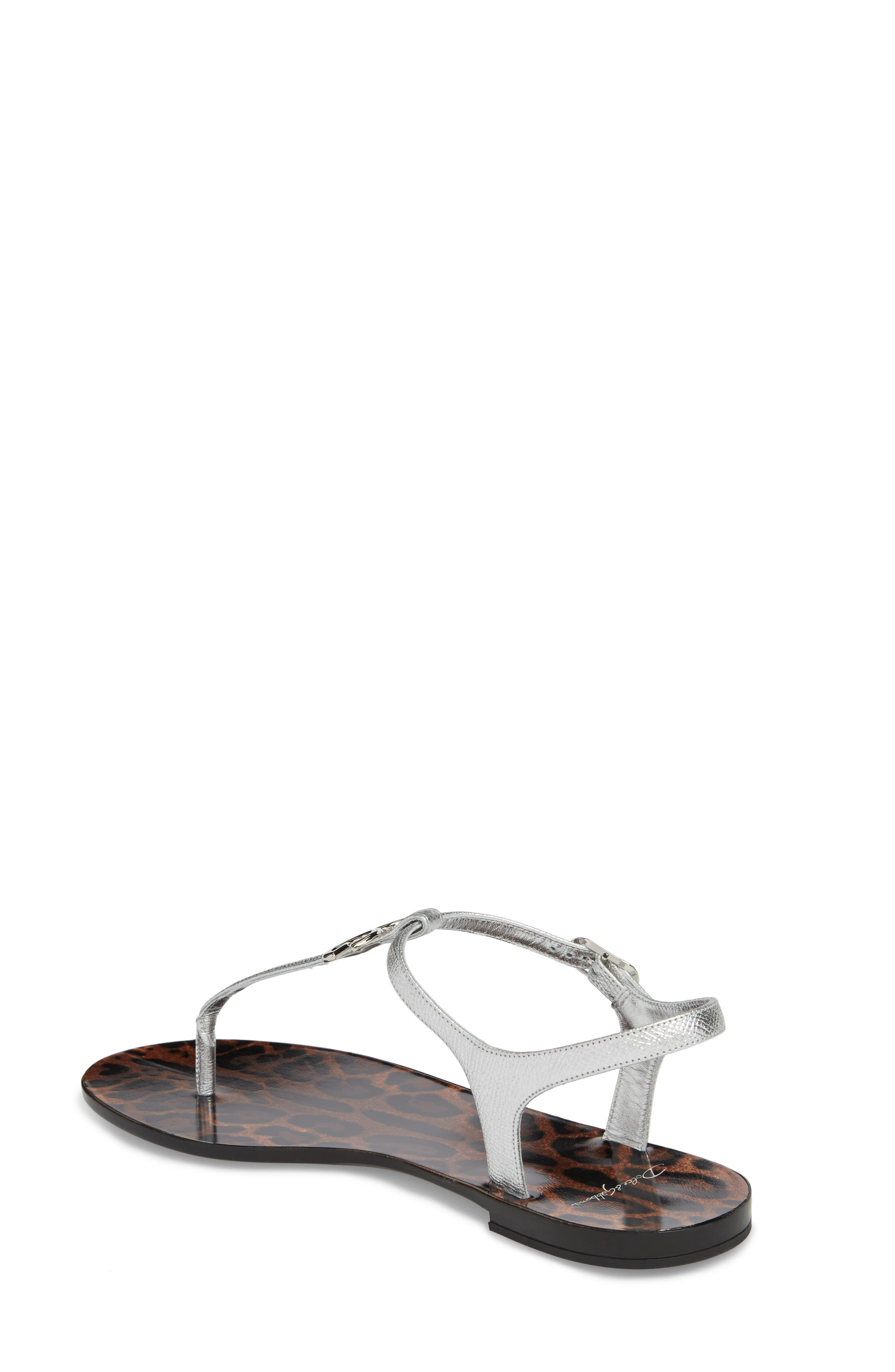 Dauphine Logo Sandal,                             Alternate thumbnail 2, color,                             040