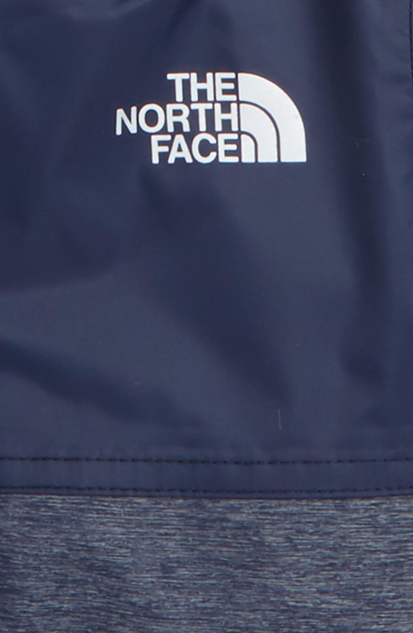 Warm Storm Hooded Waterproof Jacket,                             Alternate thumbnail 2, color,                             COSMIC BLUE/ BLUE HEATHER
