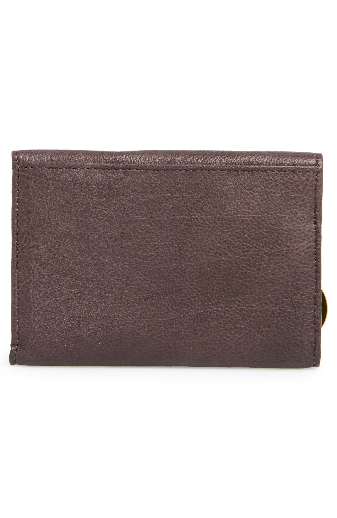 LIEBESKIND,                             'Small Alexandra' Leather Wallet,                             Alternate thumbnail 4, color,                             020