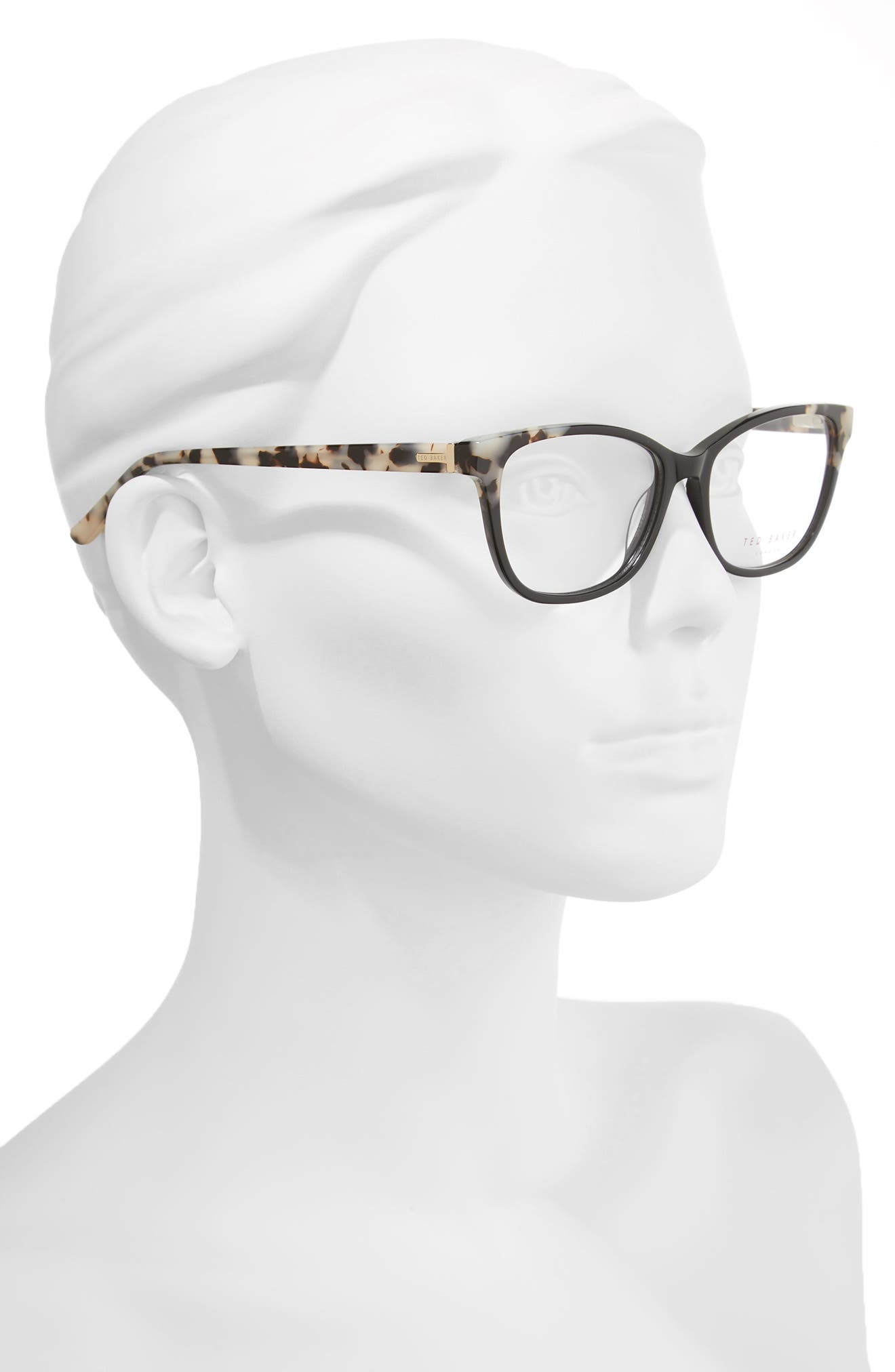 52mm Square Optical Glasses,                             Alternate thumbnail 2, color,