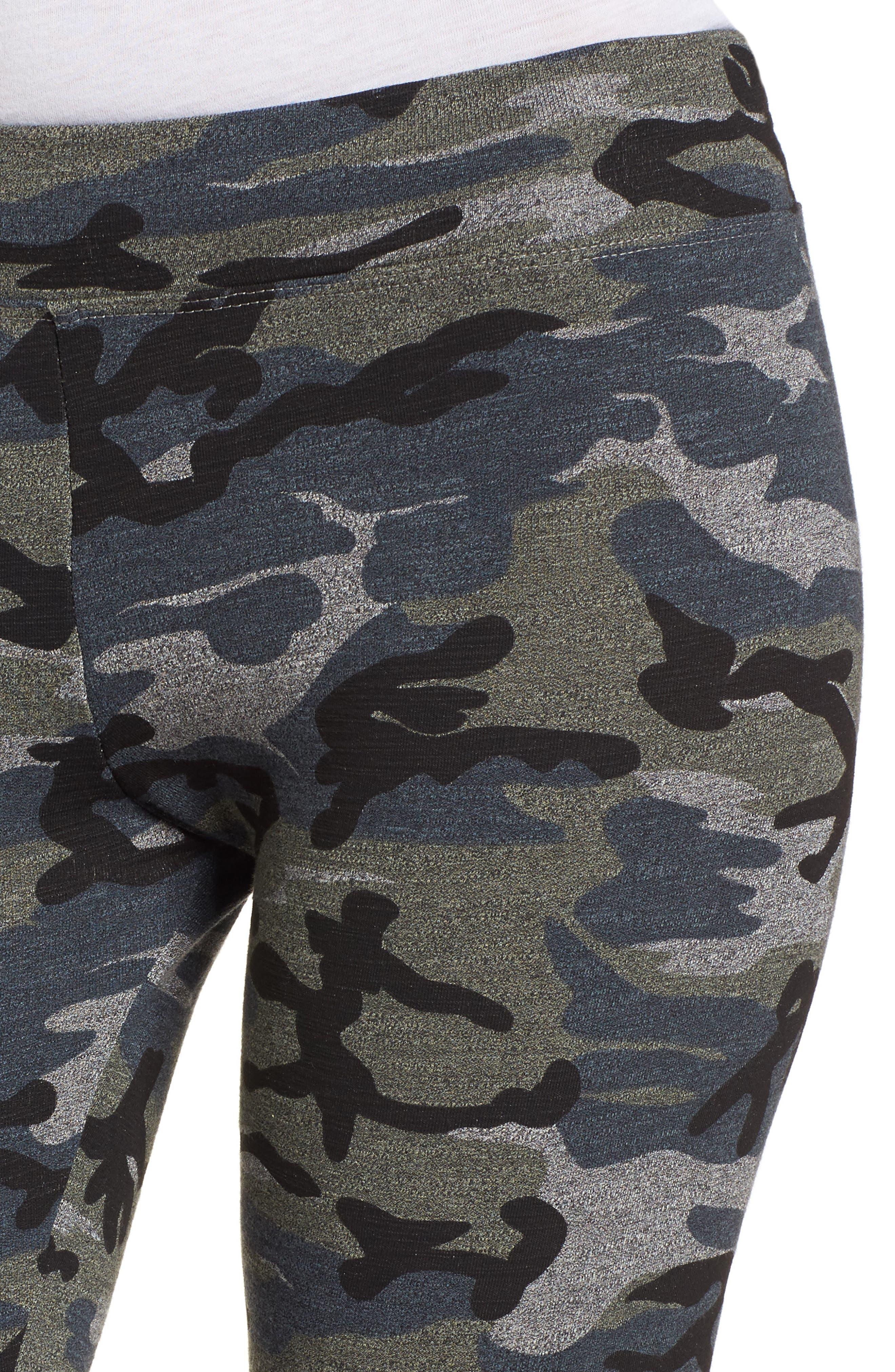 Camo Yoga Pants,                             Alternate thumbnail 9, color,