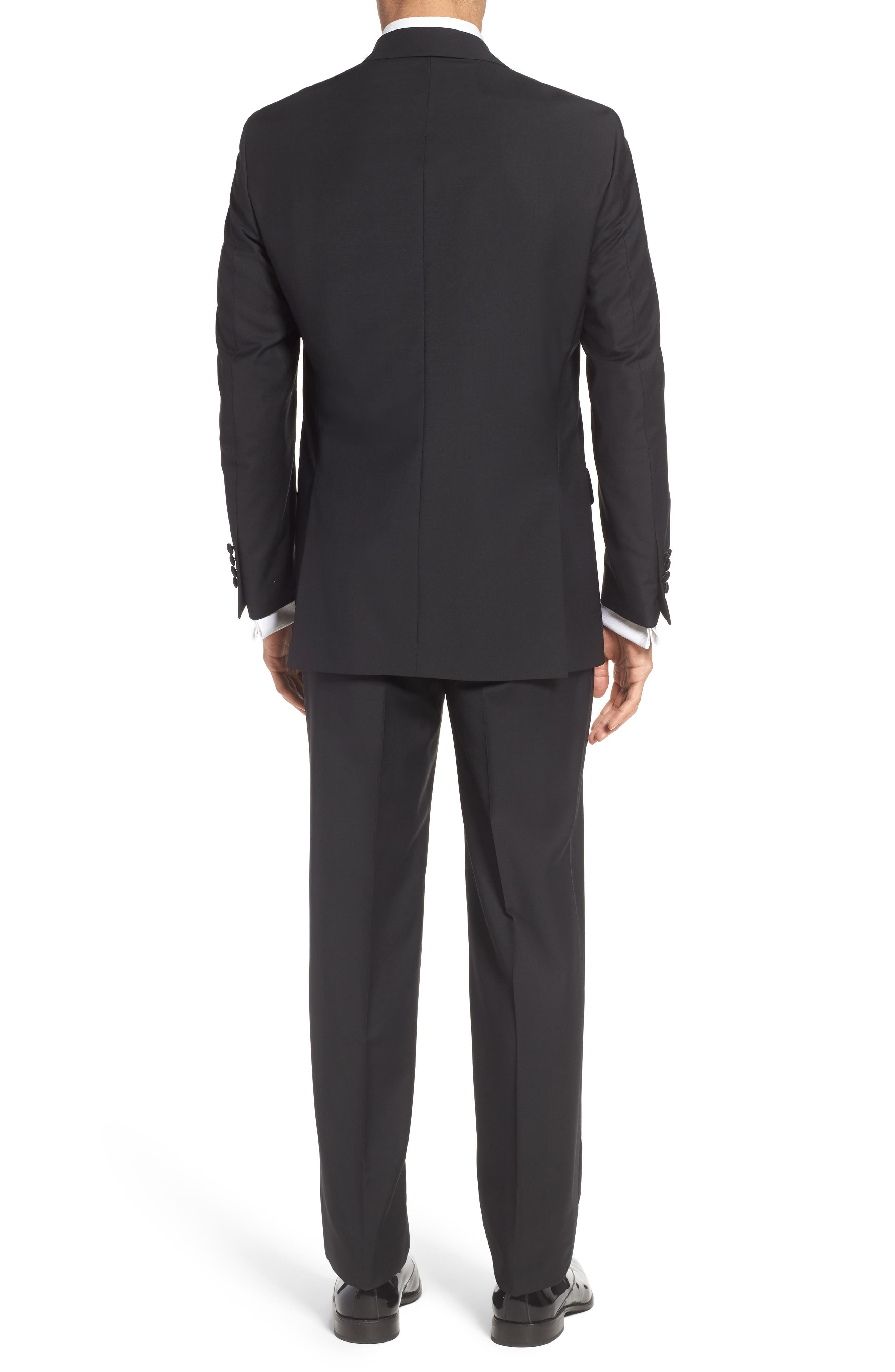 Classic Fit Wool & Mohair Tuxedo,                             Alternate thumbnail 2, color,                             001