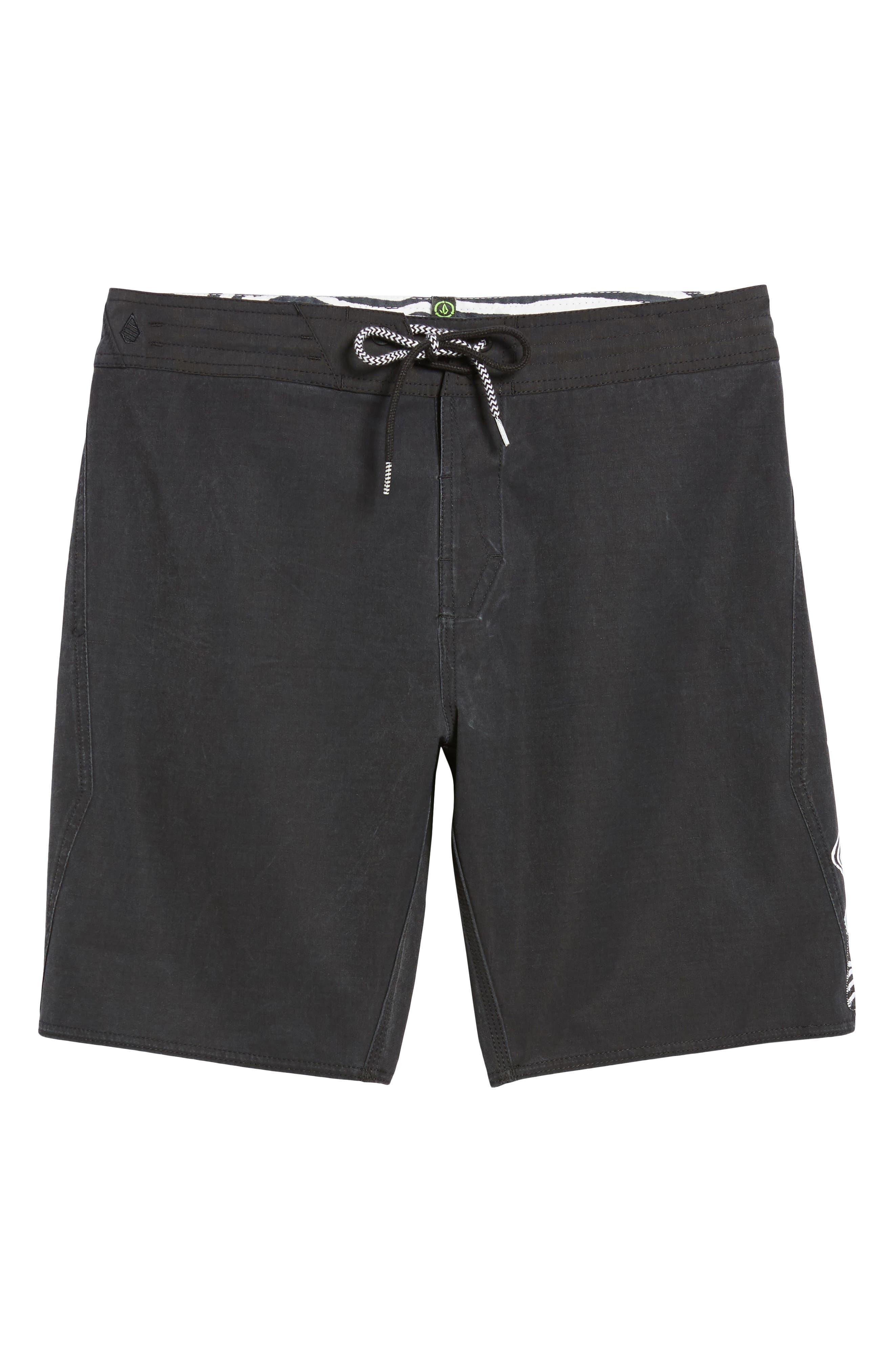 Side Fi Stoney Board Shorts,                             Alternate thumbnail 6, color,                             001