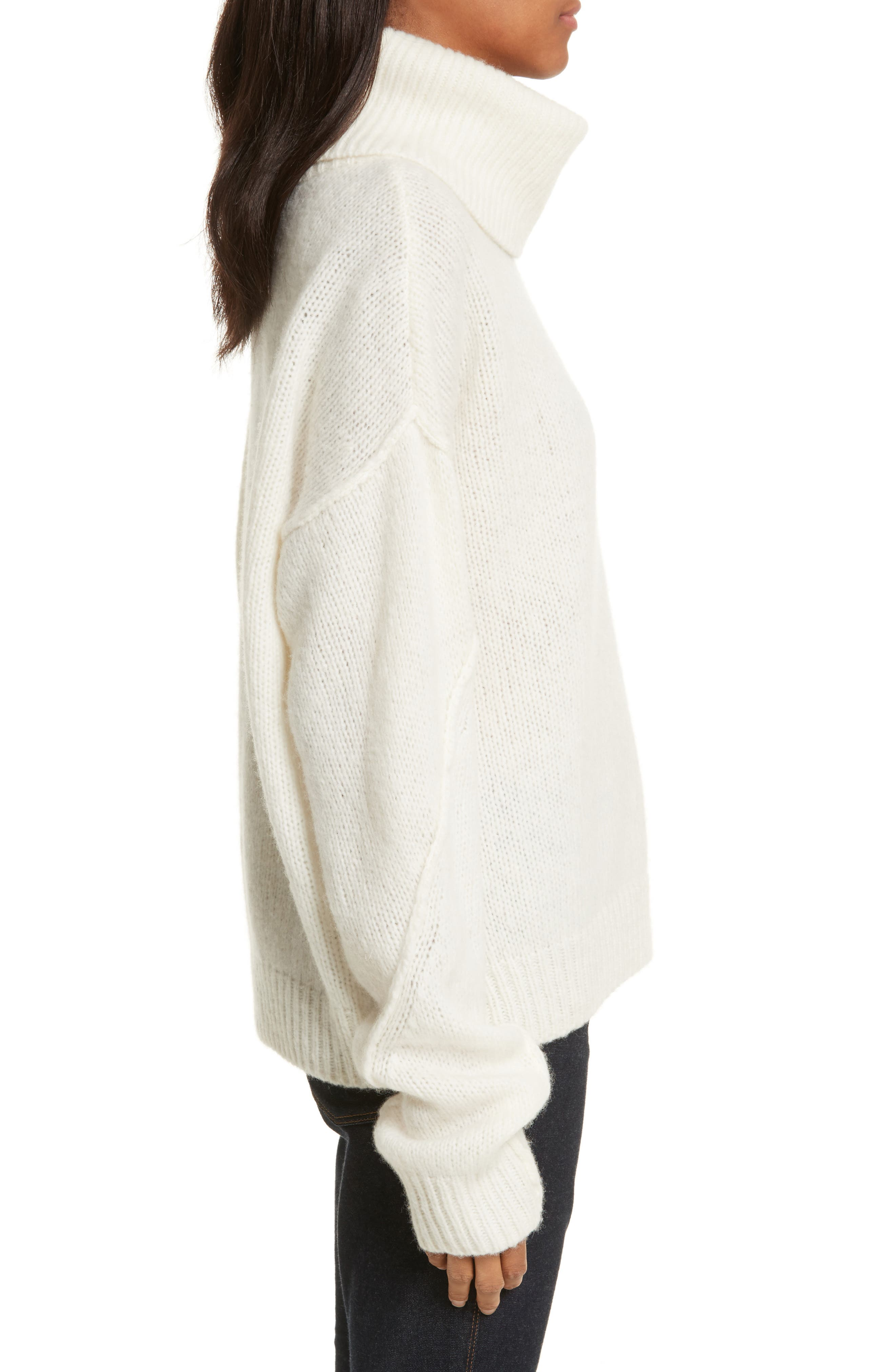 Eva Sweater with Removable Turtleneck,                             Alternate thumbnail 9, color,