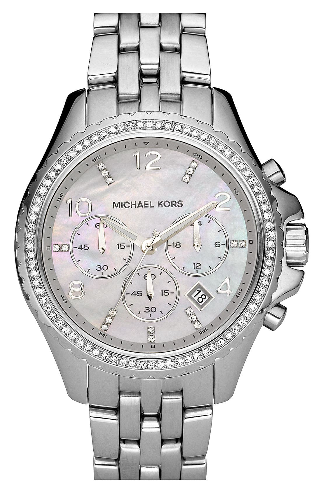 Michael Kors 'Pilot' Watch,                             Main thumbnail 1, color,                             040