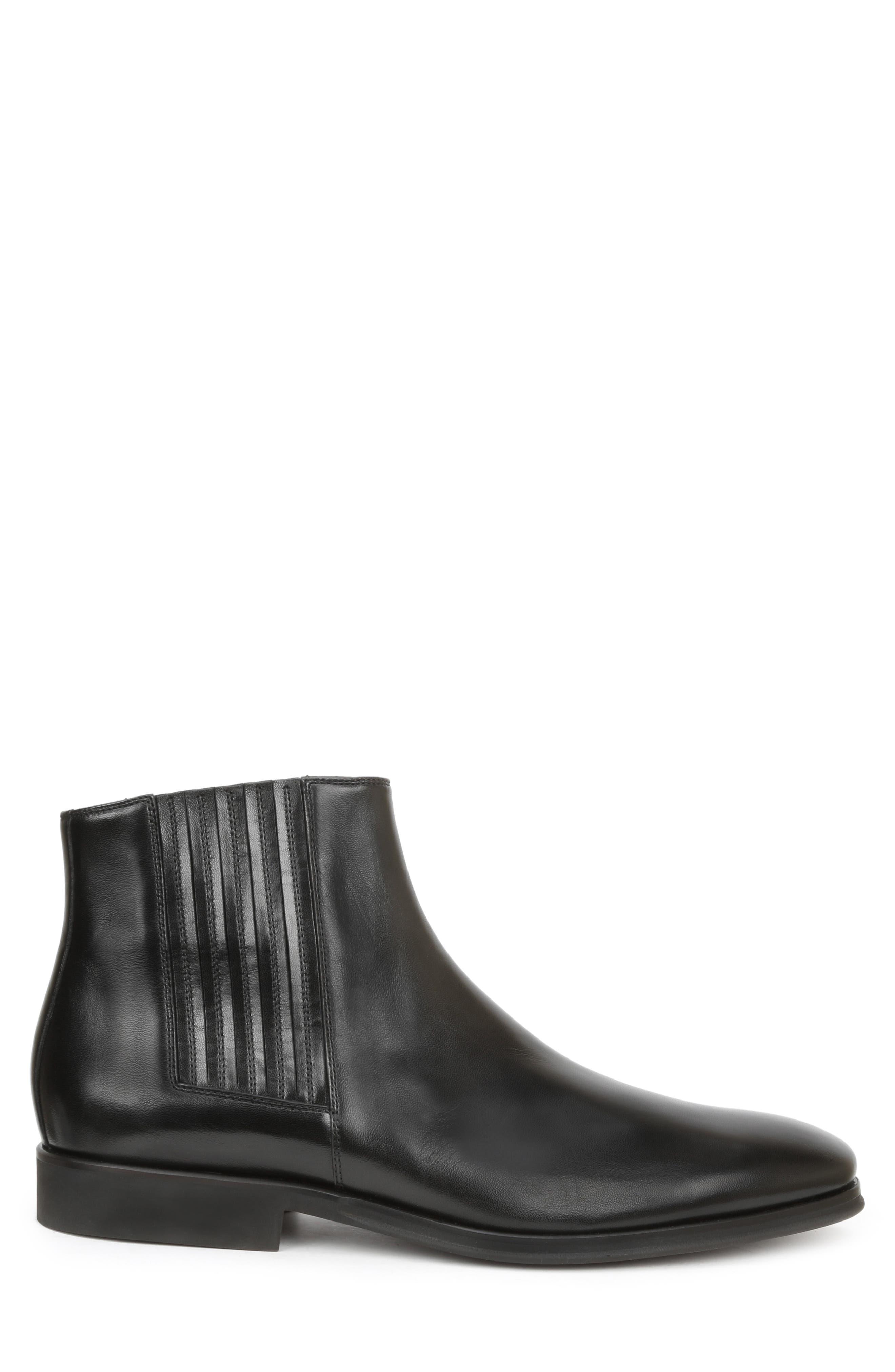 Rezzo Chelsea Boot,                             Alternate thumbnail 3, color,                             BLACK