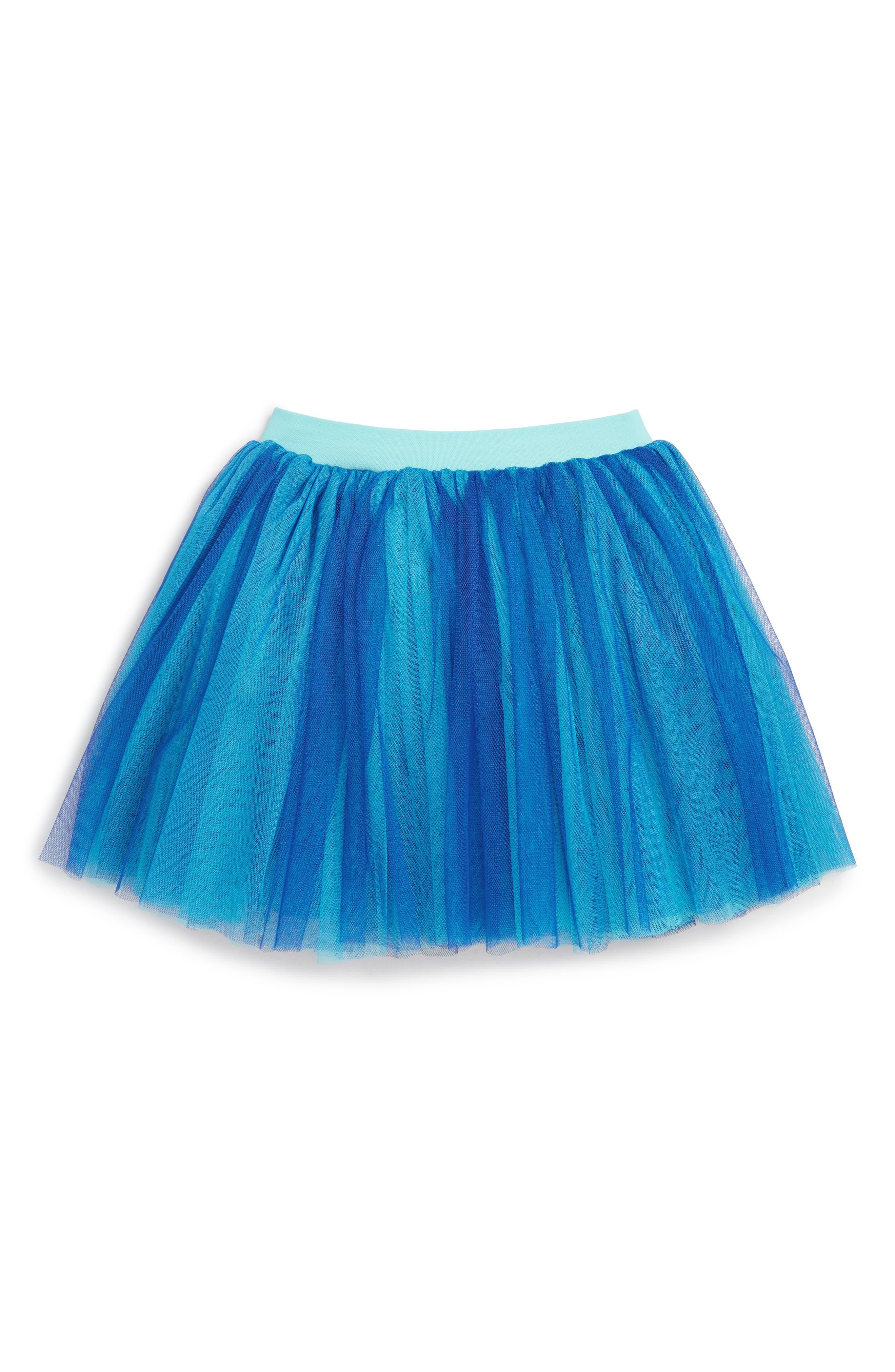 Girls Truly Me Tutu Skirt Size 4  Blue