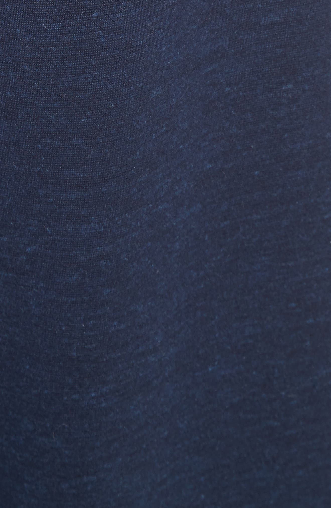 Jersey Wide Leg Drawstring Pants,                             Alternate thumbnail 5, color,                             413