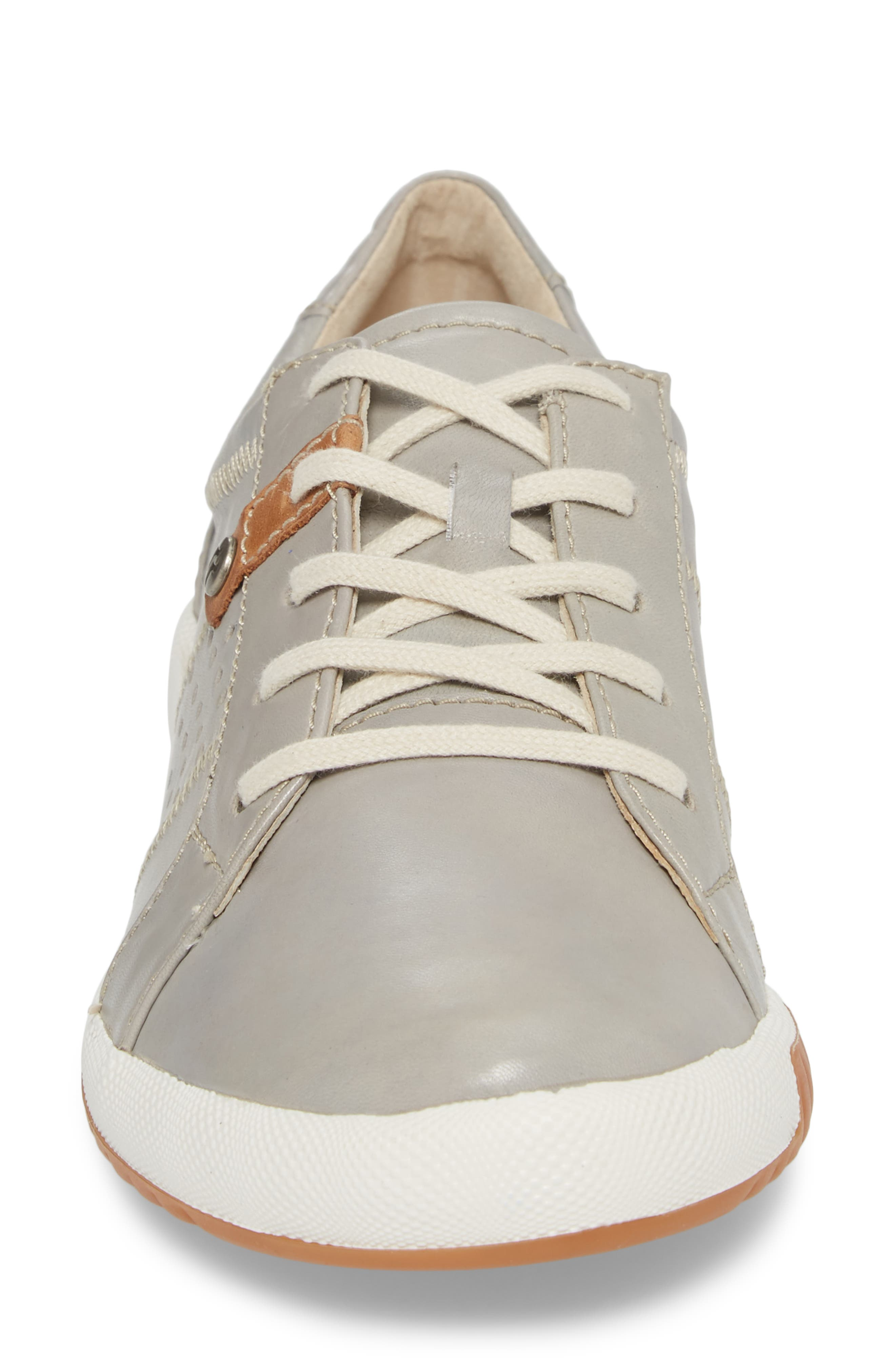 Cordoba 01 Sneaker,                             Alternate thumbnail 4, color,                             GREY LEATHER