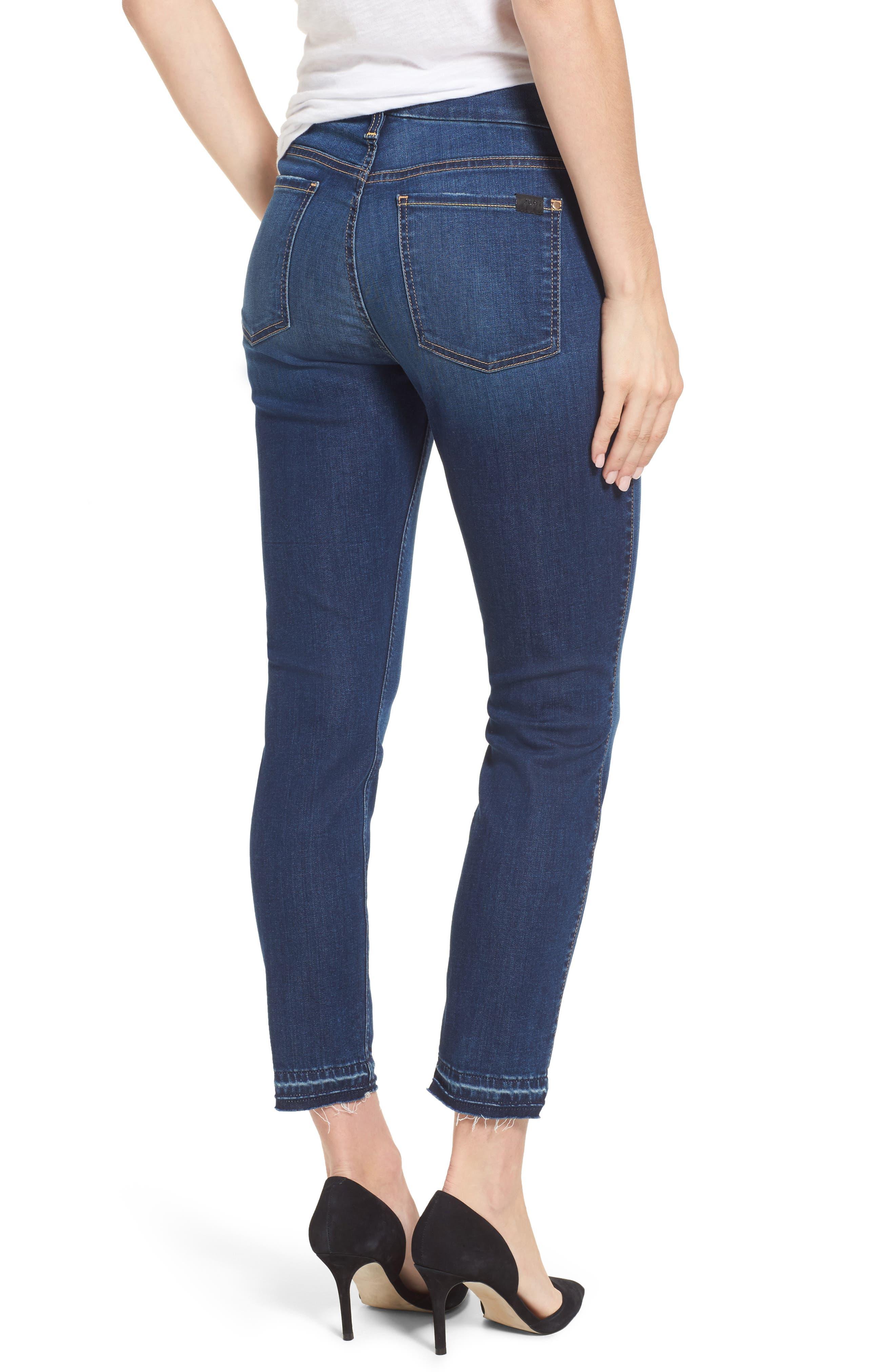 Release Hem Skinny Ankle Jeans,                             Alternate thumbnail 2, color,                             401