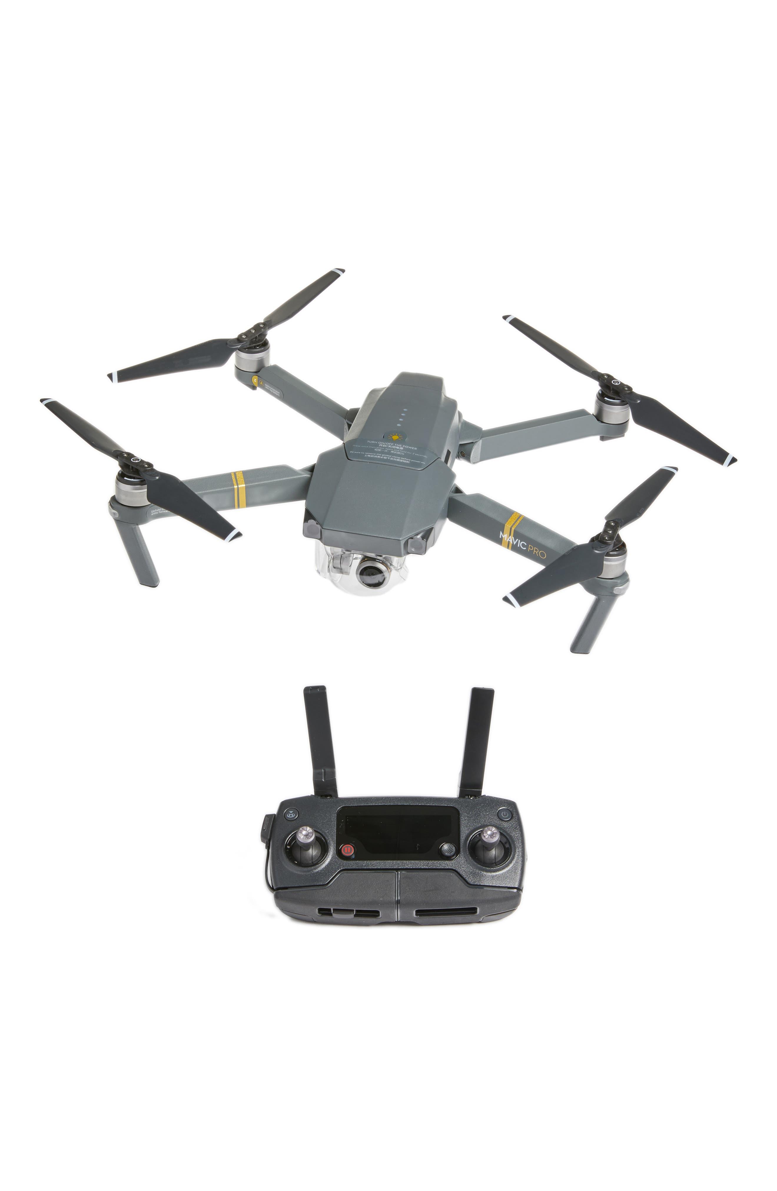 Mavic Pro Foldable Flying Quadcopter,                             Alternate thumbnail 4, color,                             020