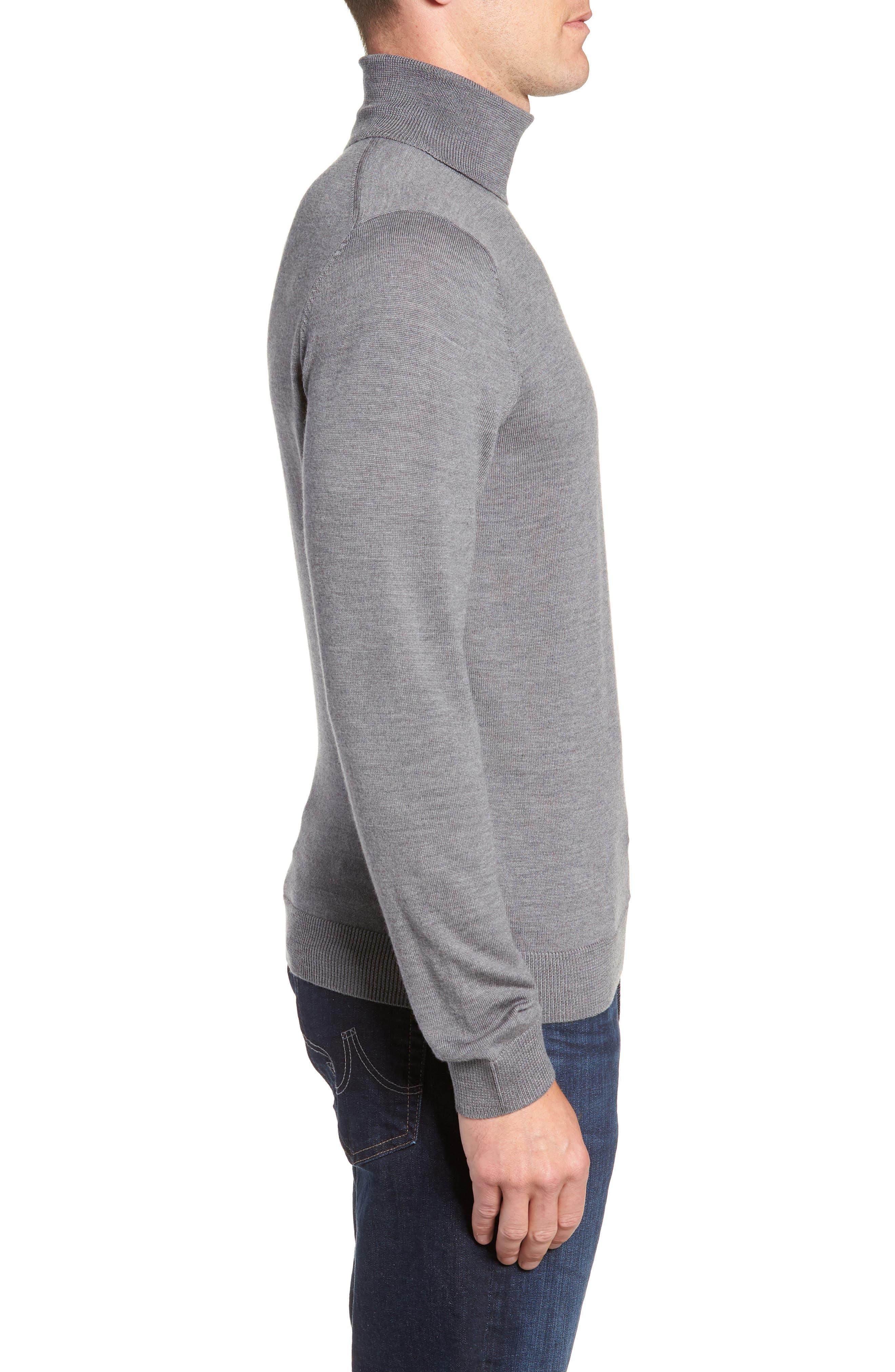 Merino Wool Turtleneck Sweater,                             Alternate thumbnail 14, color,