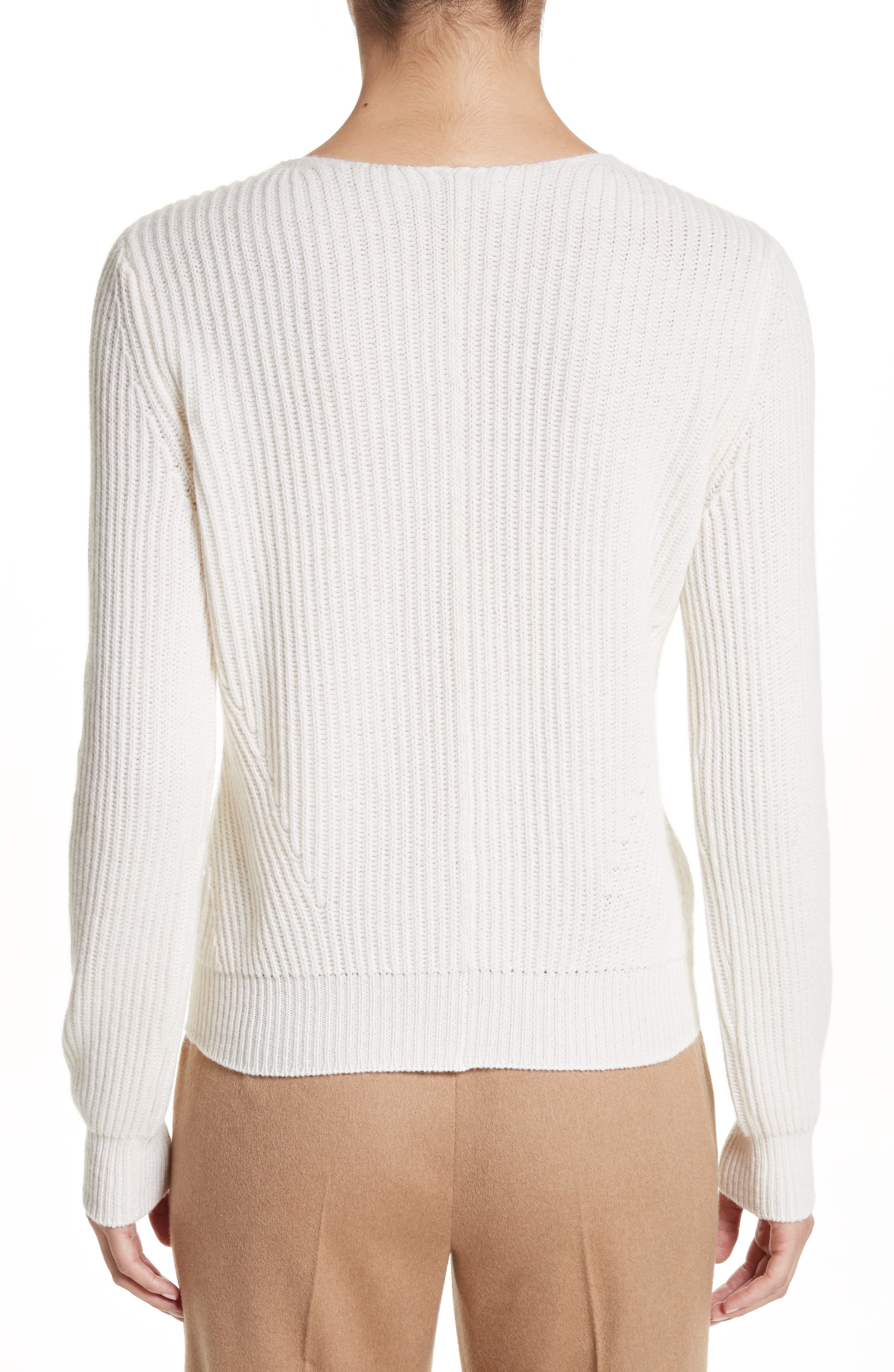 Sax Wool & Cashmere Sweater,                             Alternate thumbnail 2, color,                             900