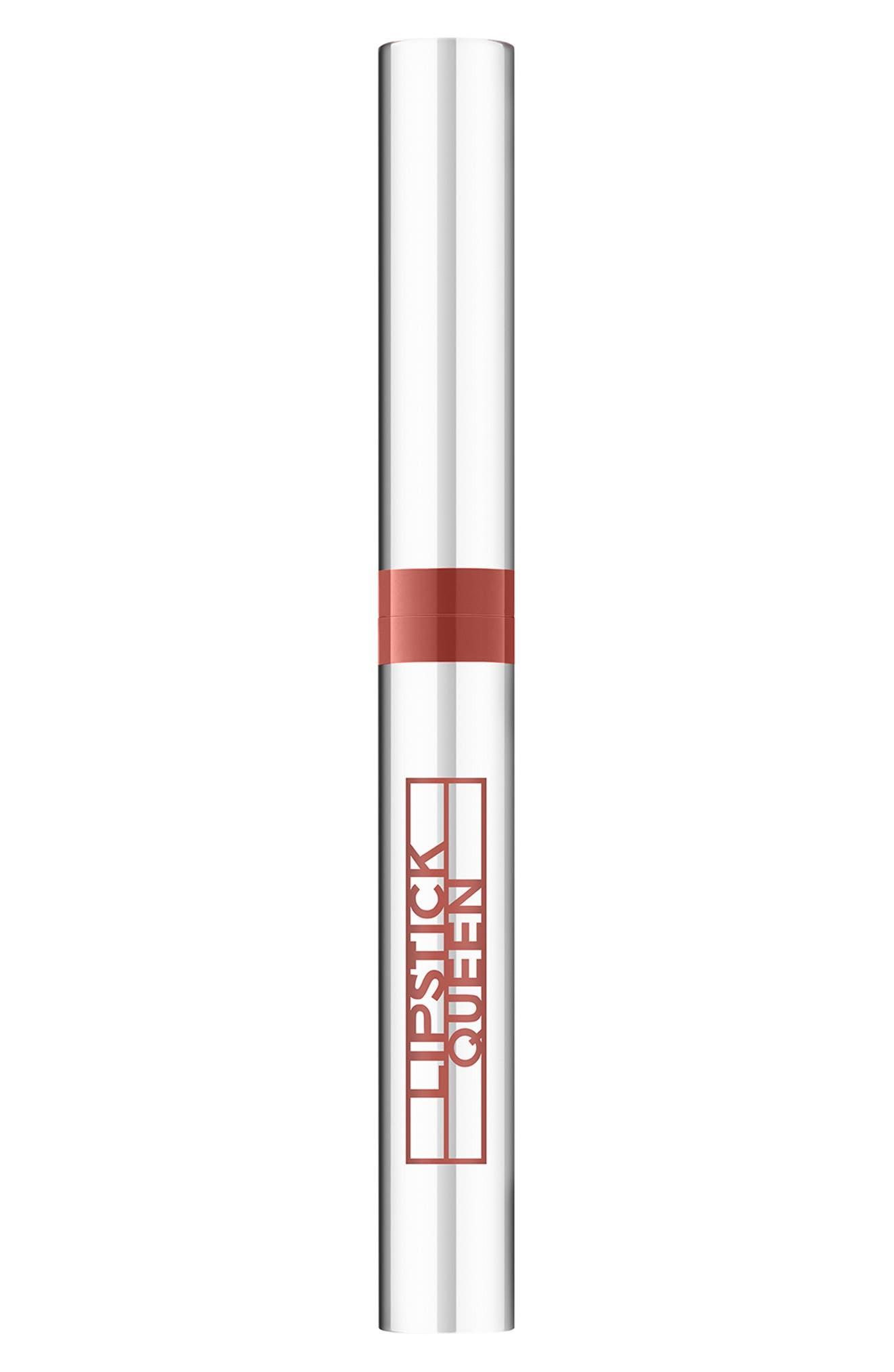 LIPSTICK QUEEN,                             SPACE.NK.apothecary Lipstick Queen Rear View Mirror Lip Lacquer,                             Main thumbnail 1, color,                             JOY RIDE JAVA