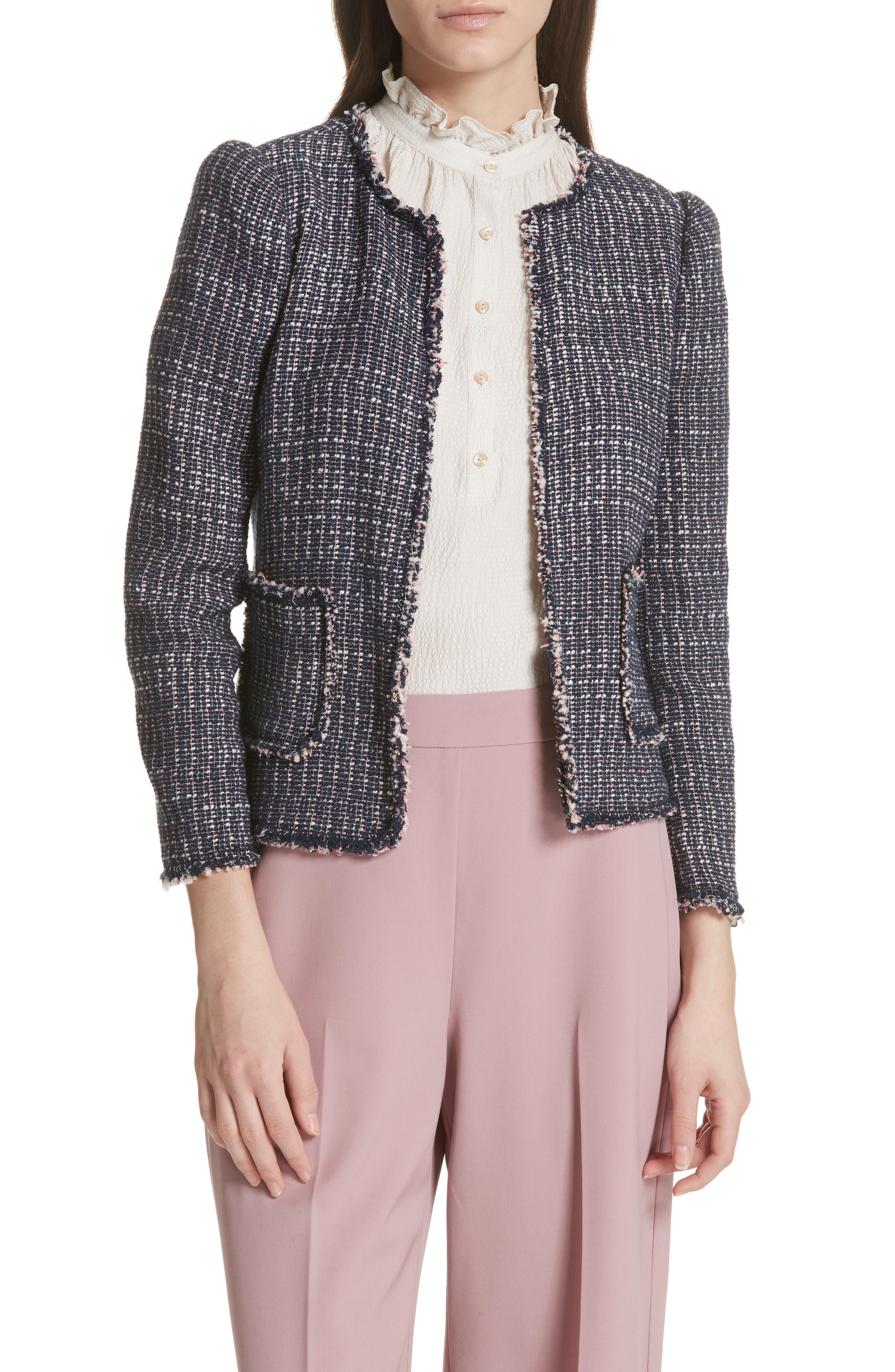 Multi Tweed Jacket,                         Main,                         color, 482