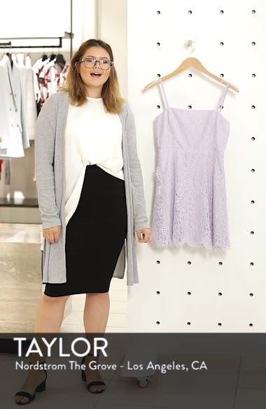 The Fiona Lace Minidress, sales video thumbnail