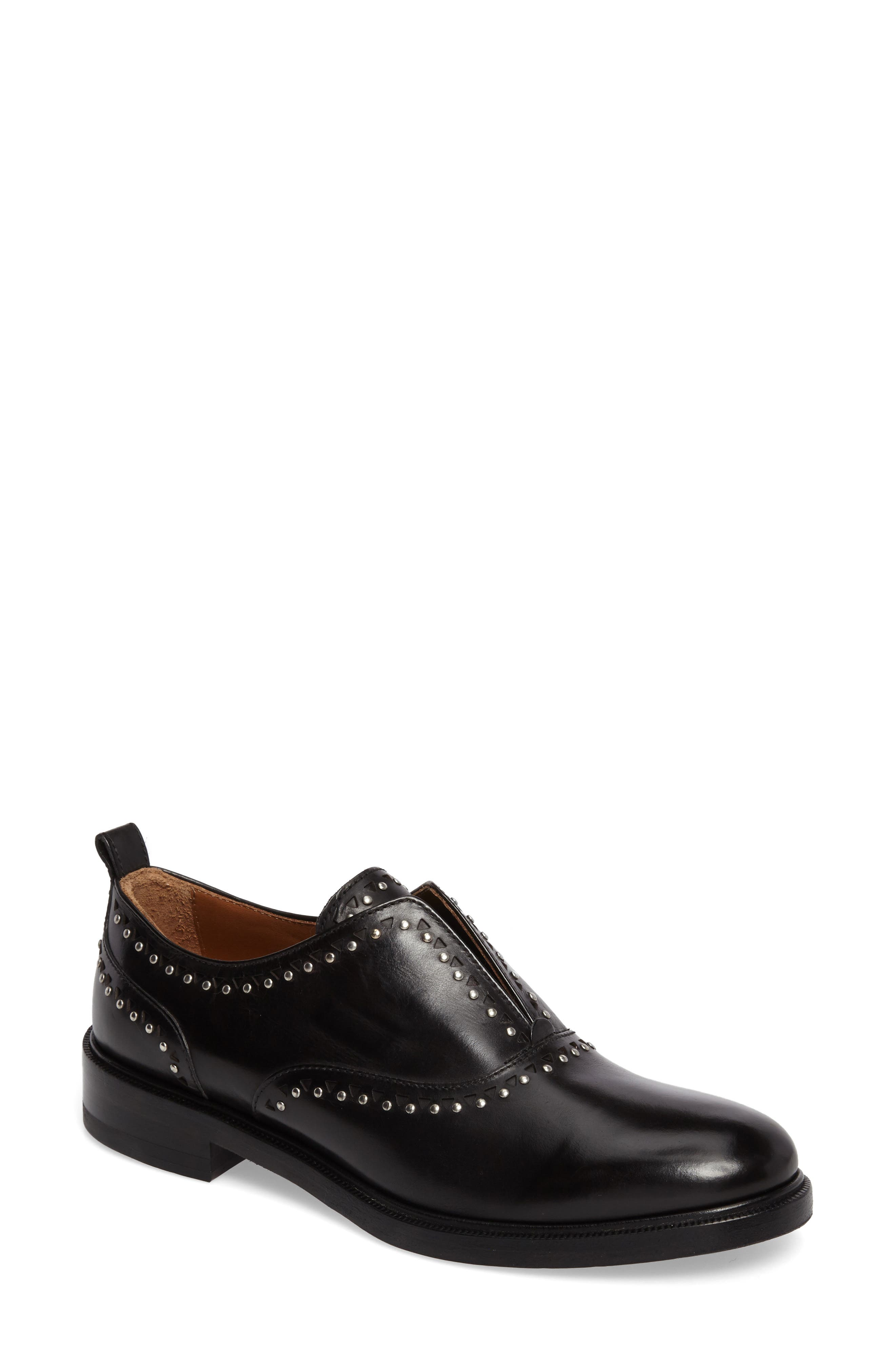 Annie Studded Oxford,                         Main,                         color, 001
