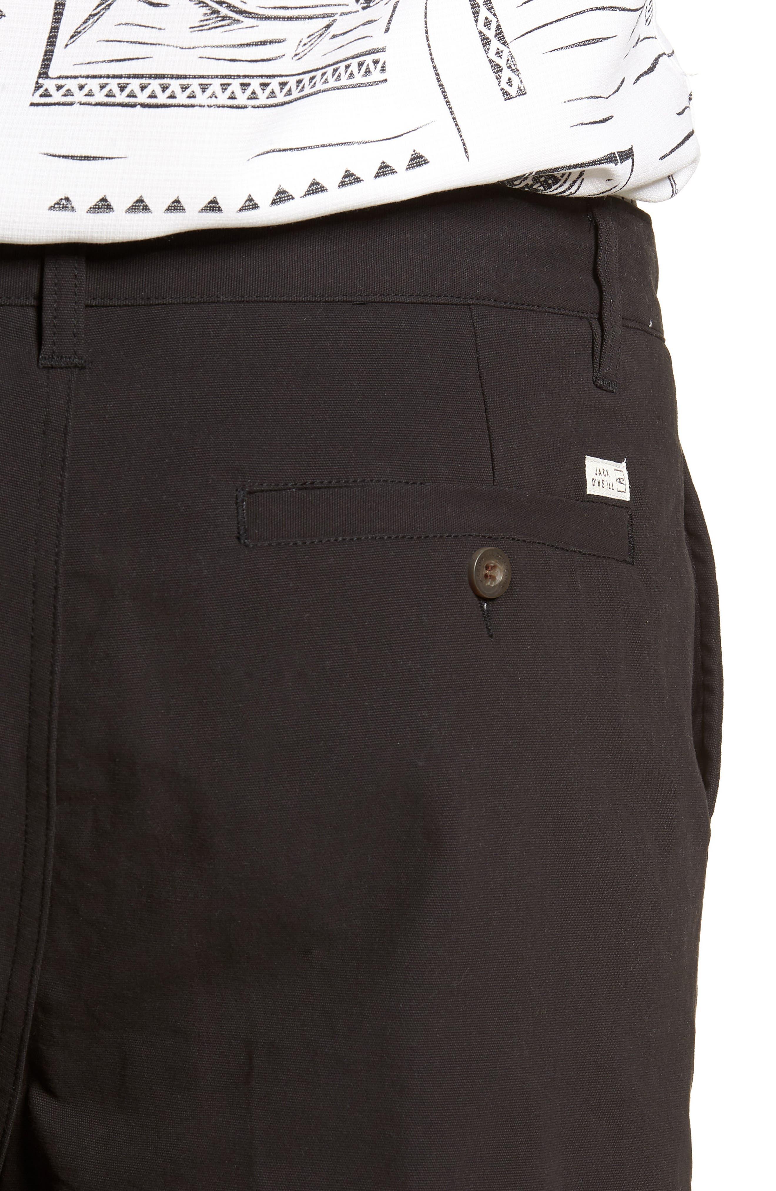 Port Shorts,                             Alternate thumbnail 4, color,                             BLACK