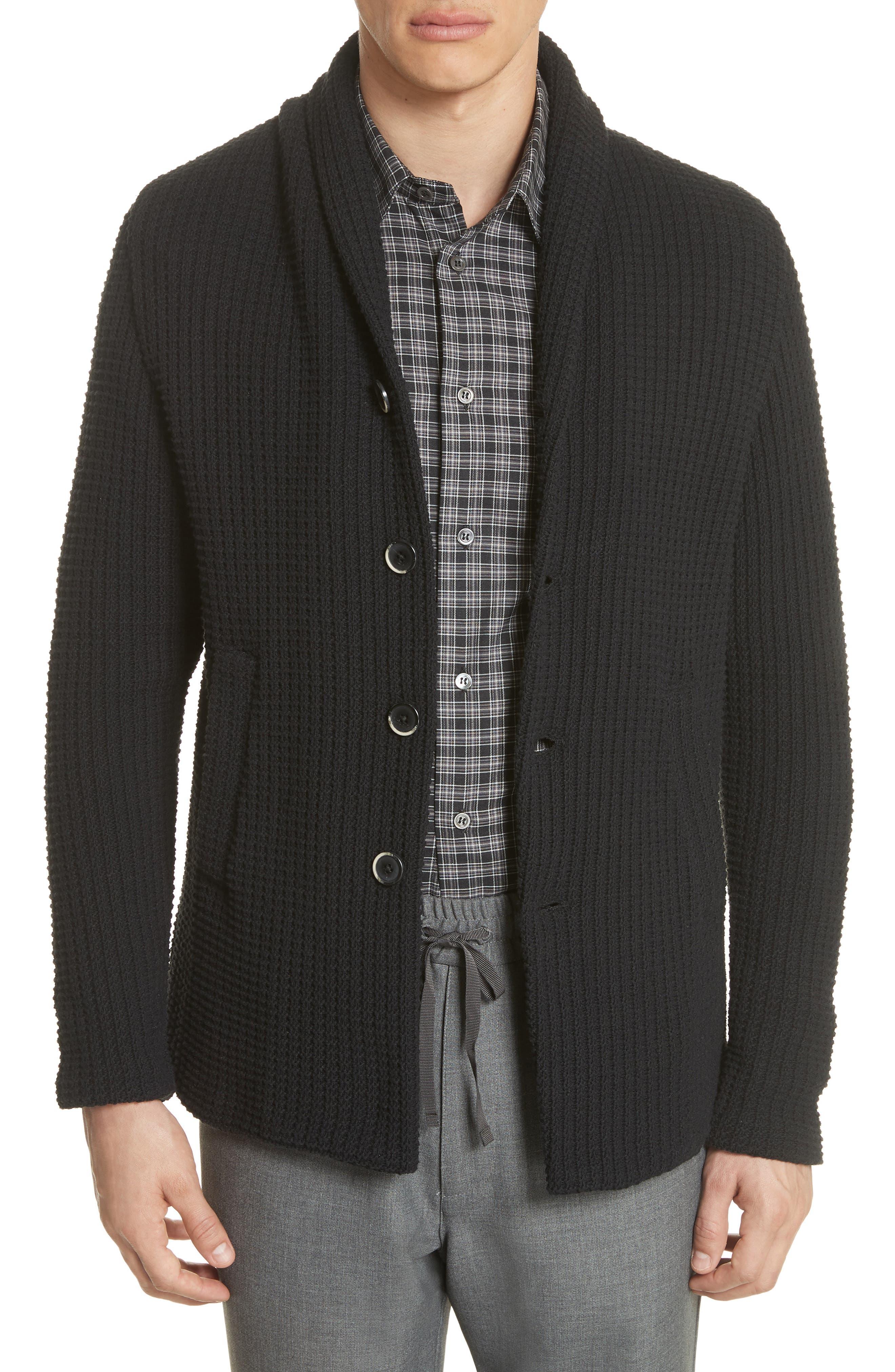 Barena Venzia Lione Badoer Knit Jacket,                         Main,                         color, 001