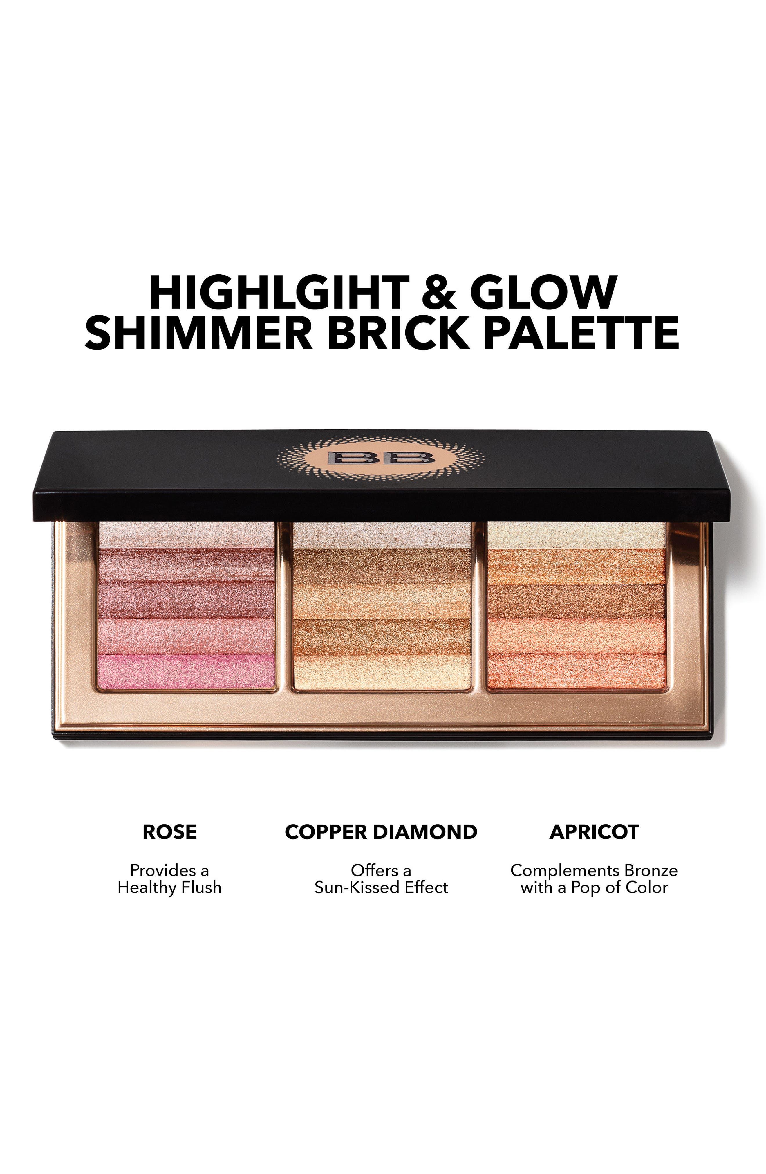 Shimmer Brick Palette,                             Alternate thumbnail 6, color,                             000
