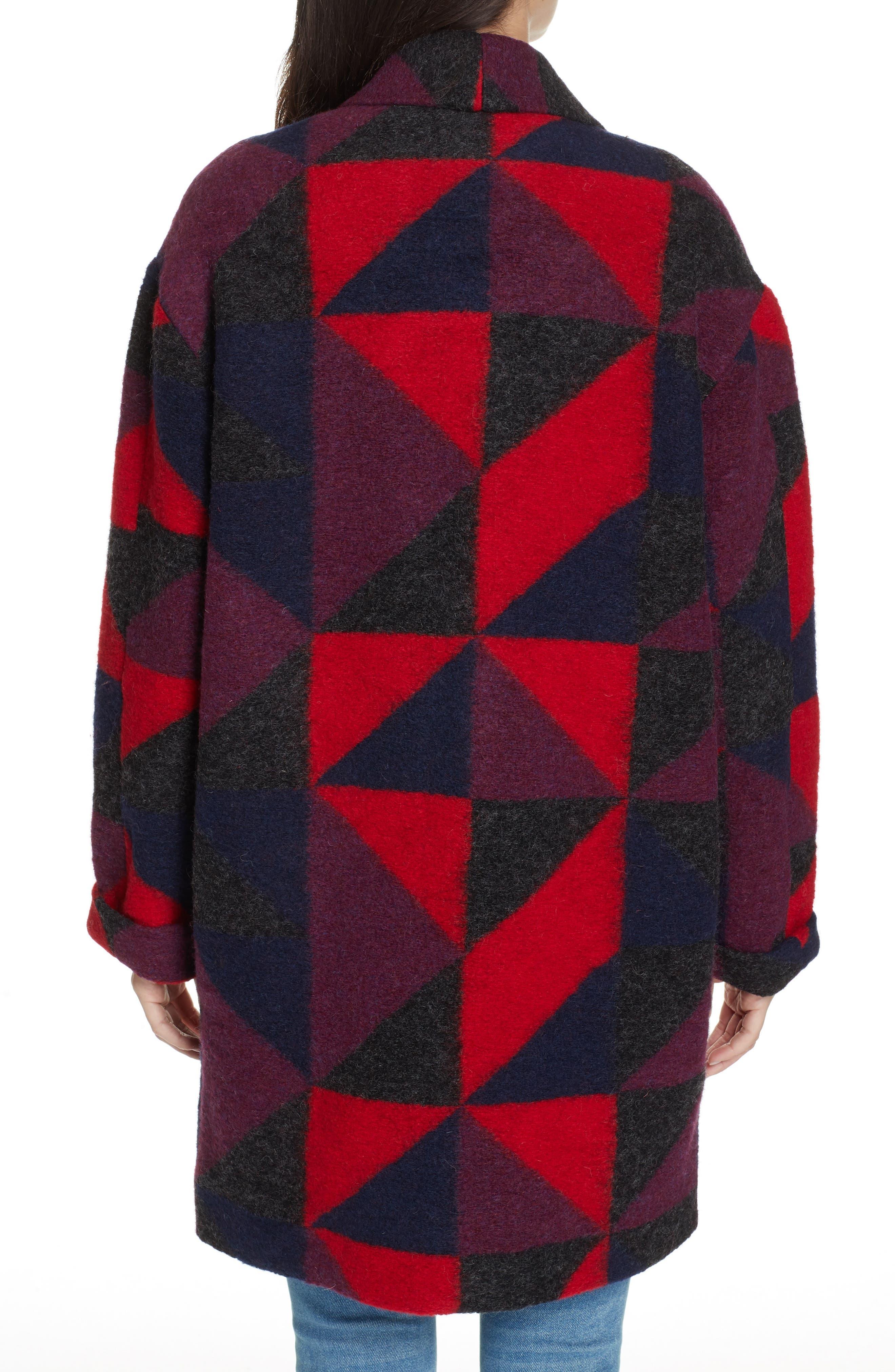 Halona Blanket Coat,                             Alternate thumbnail 2, color,                             002