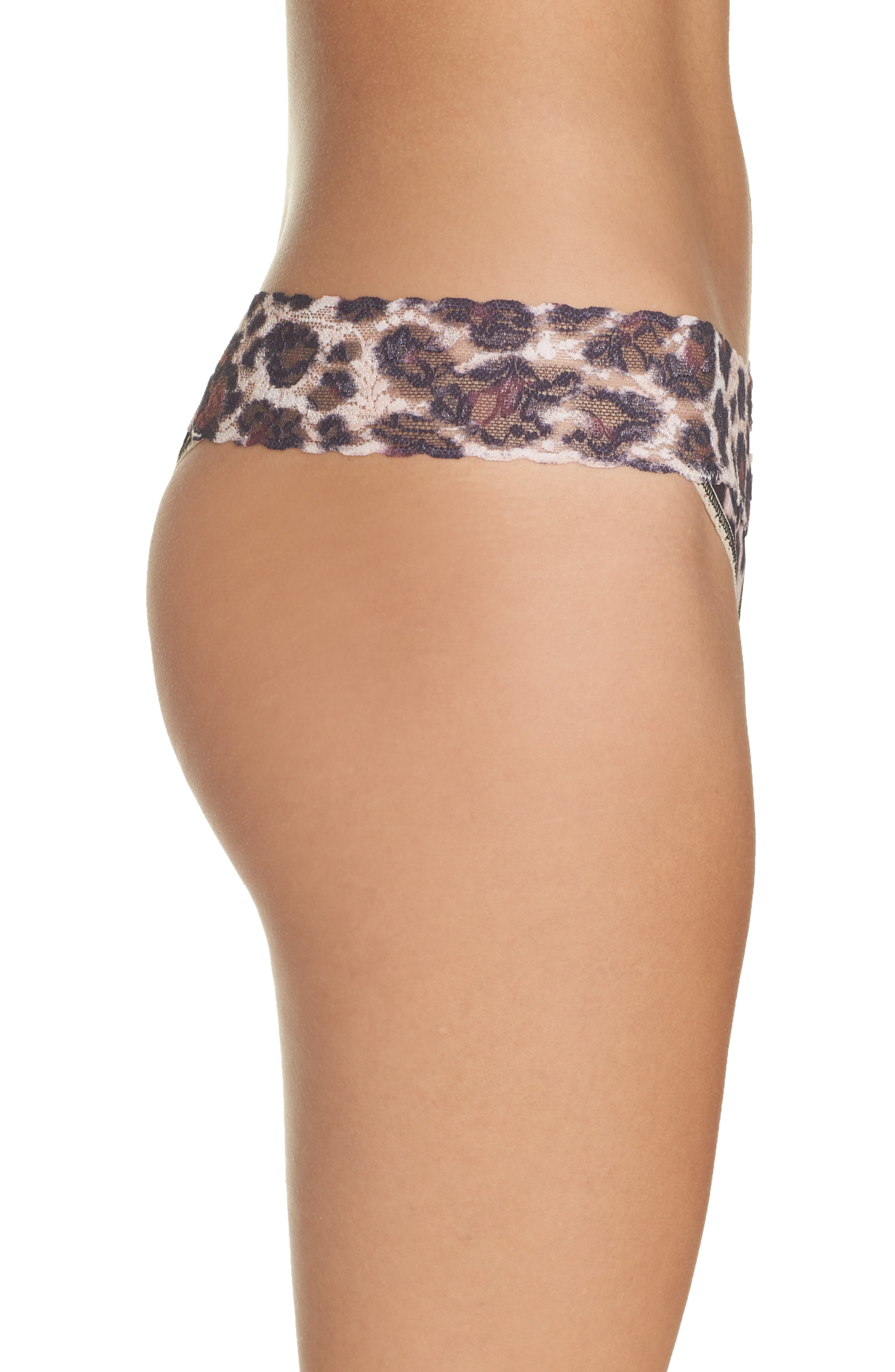Print Low Rise Thong,                             Alternate thumbnail 43, color,