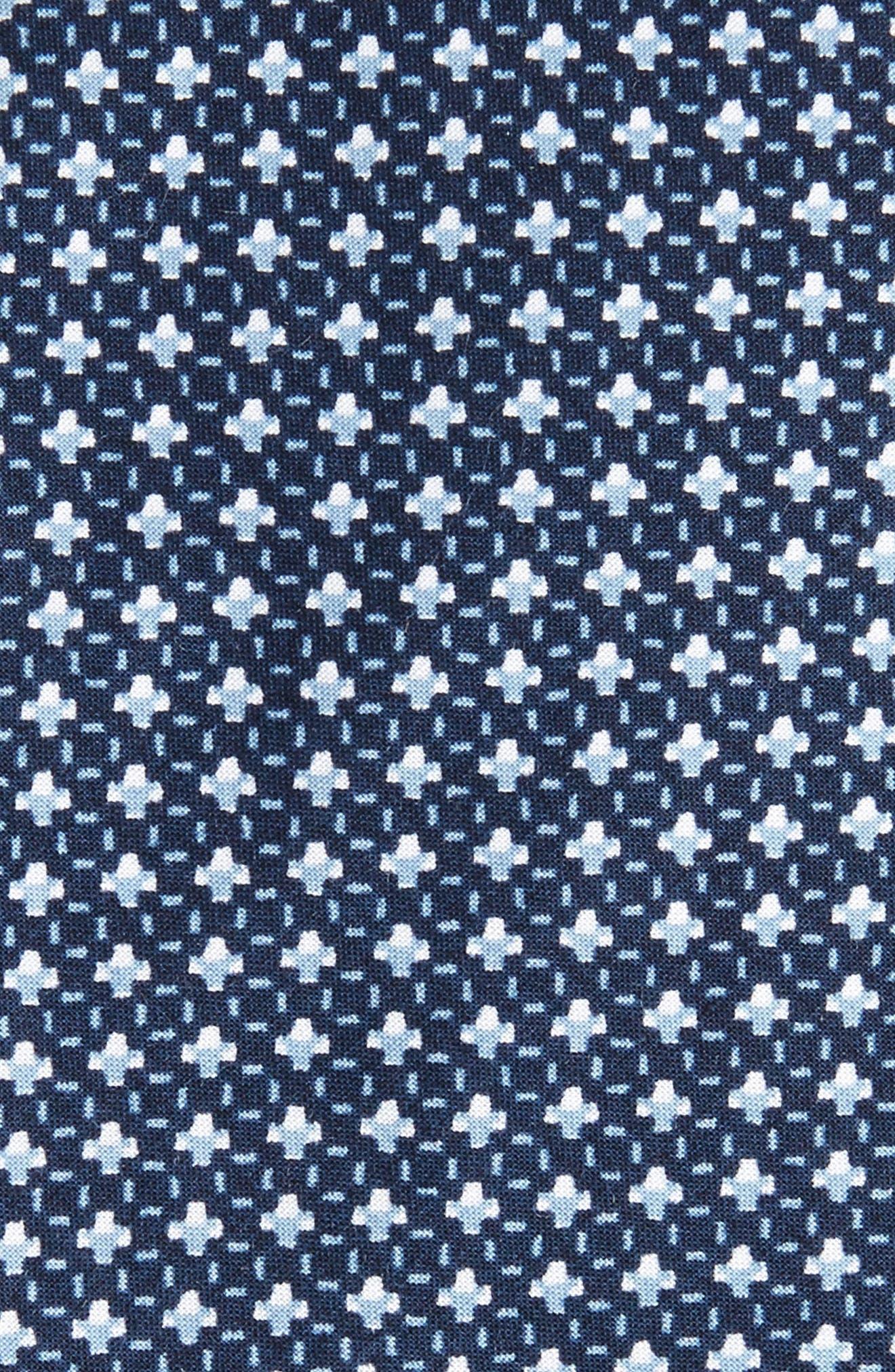 Regent Neat Coton Skinny Tie,                             Alternate thumbnail 2, color,                             001