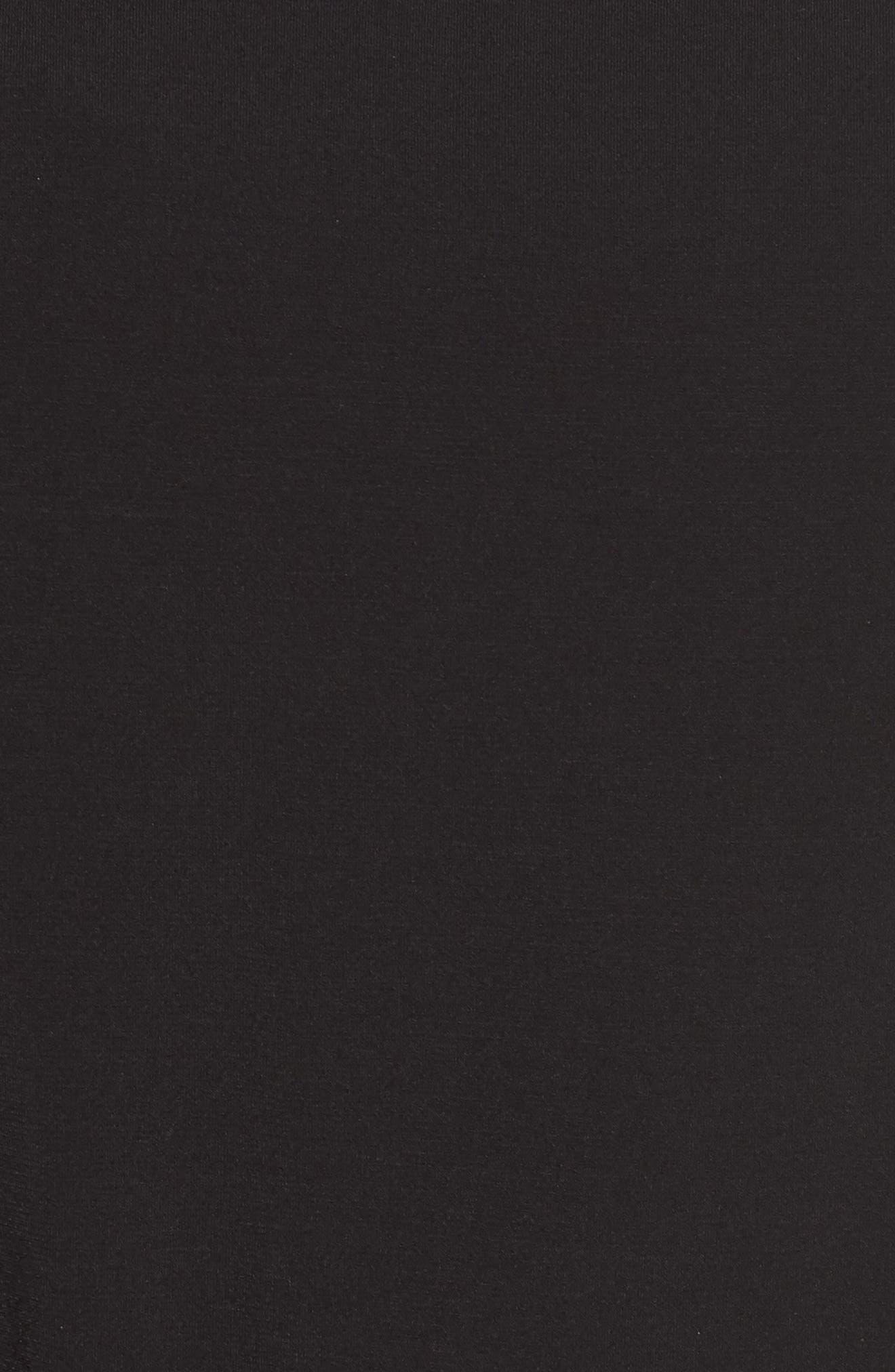 Flutter Sleeve Jersey Jumpsuit,                             Alternate thumbnail 5, color,                             001