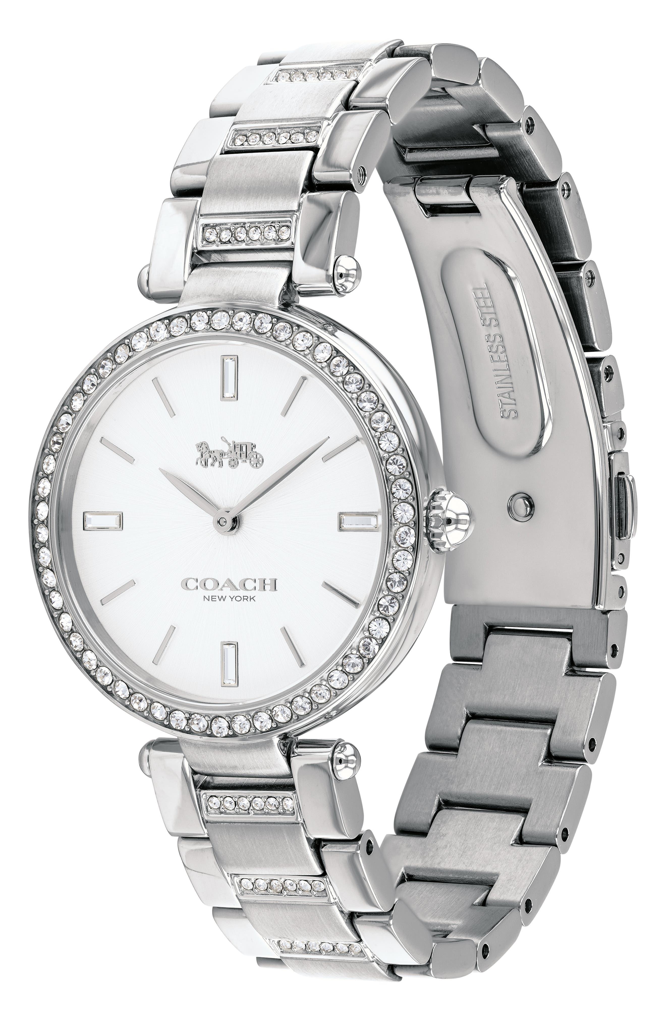 Park Bracelet Watch, 34mm,                             Alternate thumbnail 3, color,                             040
