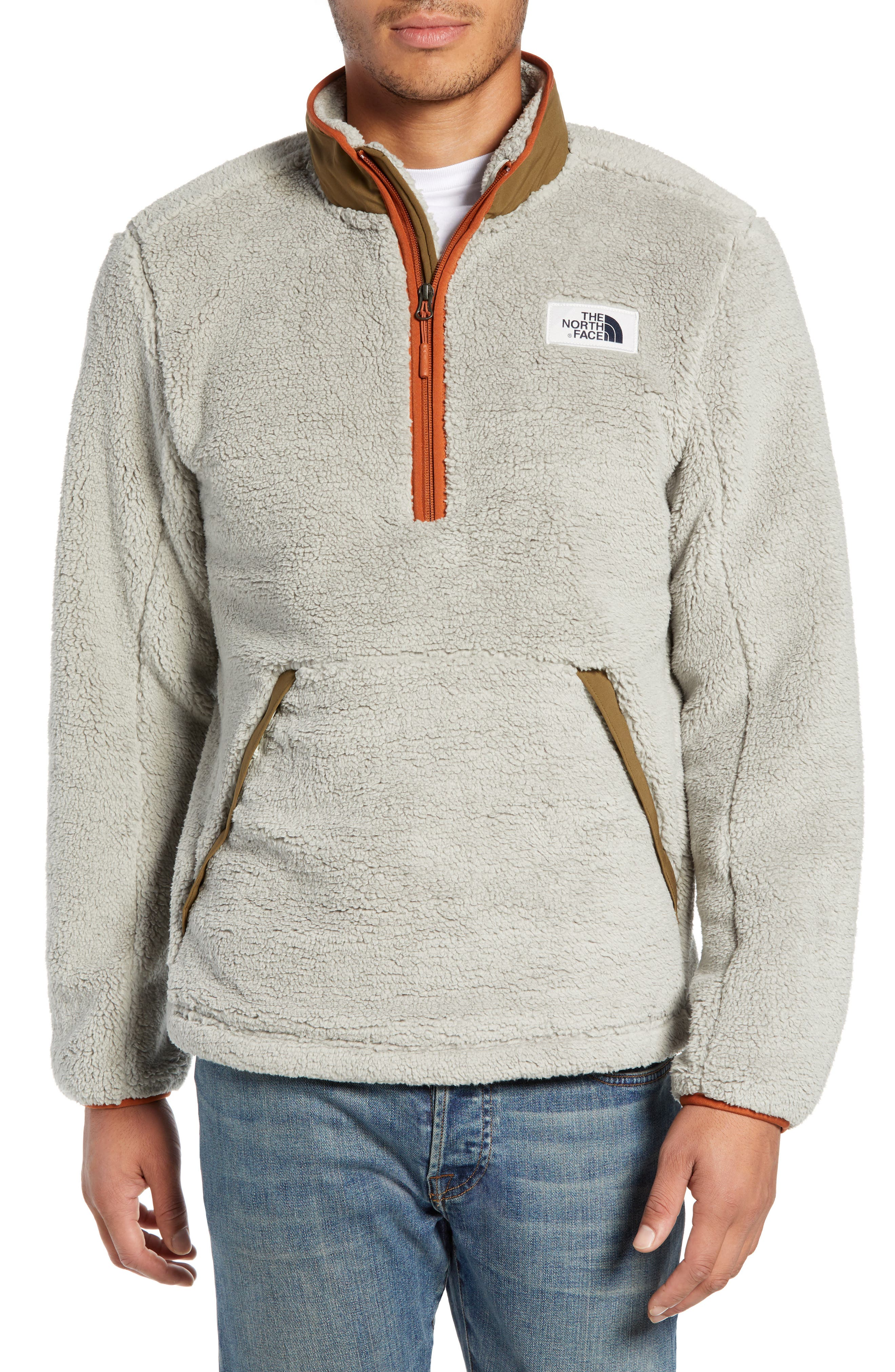 The North Face Campshire Pullover Fleece Jacket, Beige