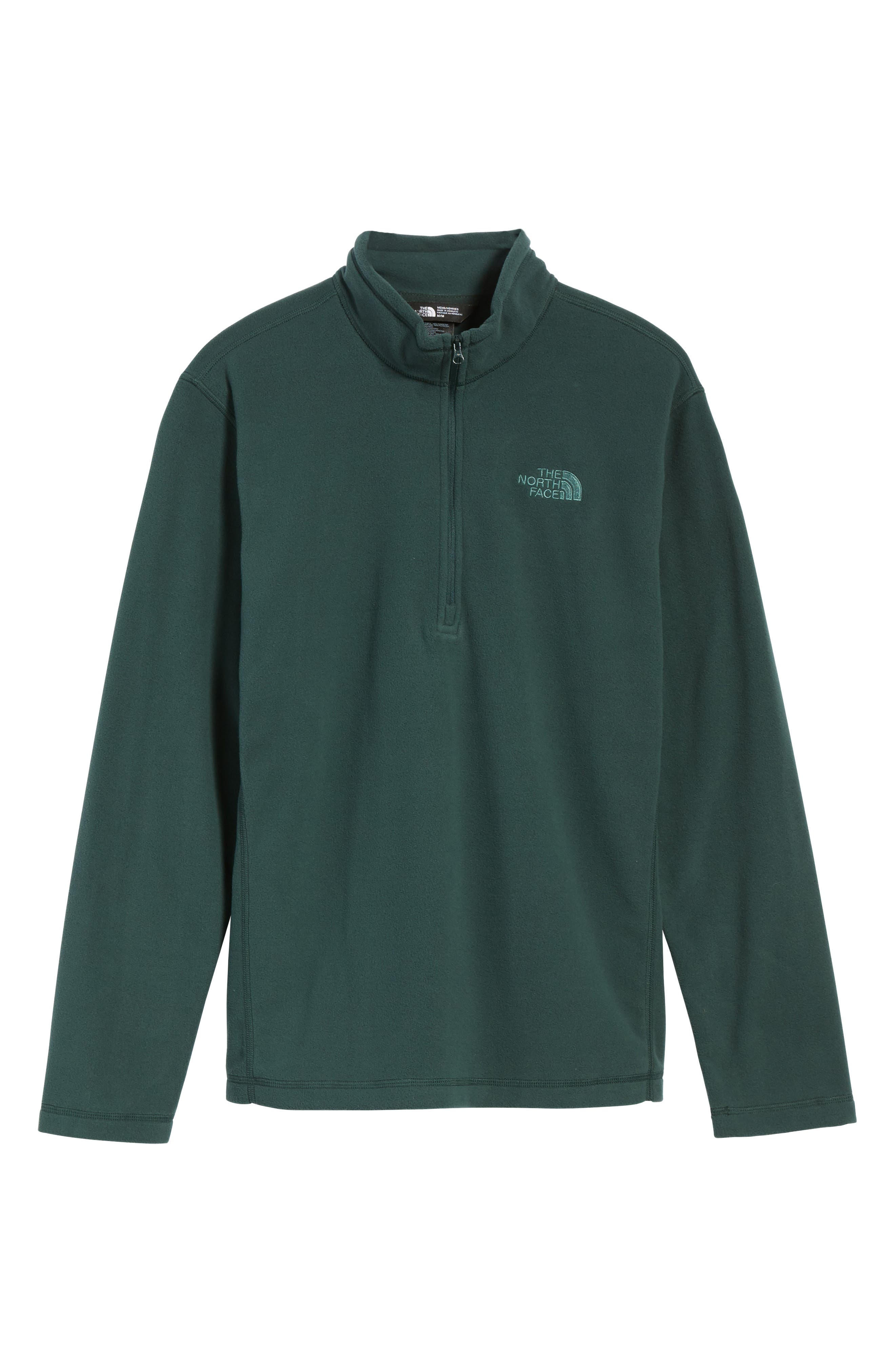 'TKA 100 Glacier' Quarter Zip Fleece Pullover,                             Alternate thumbnail 200, color,