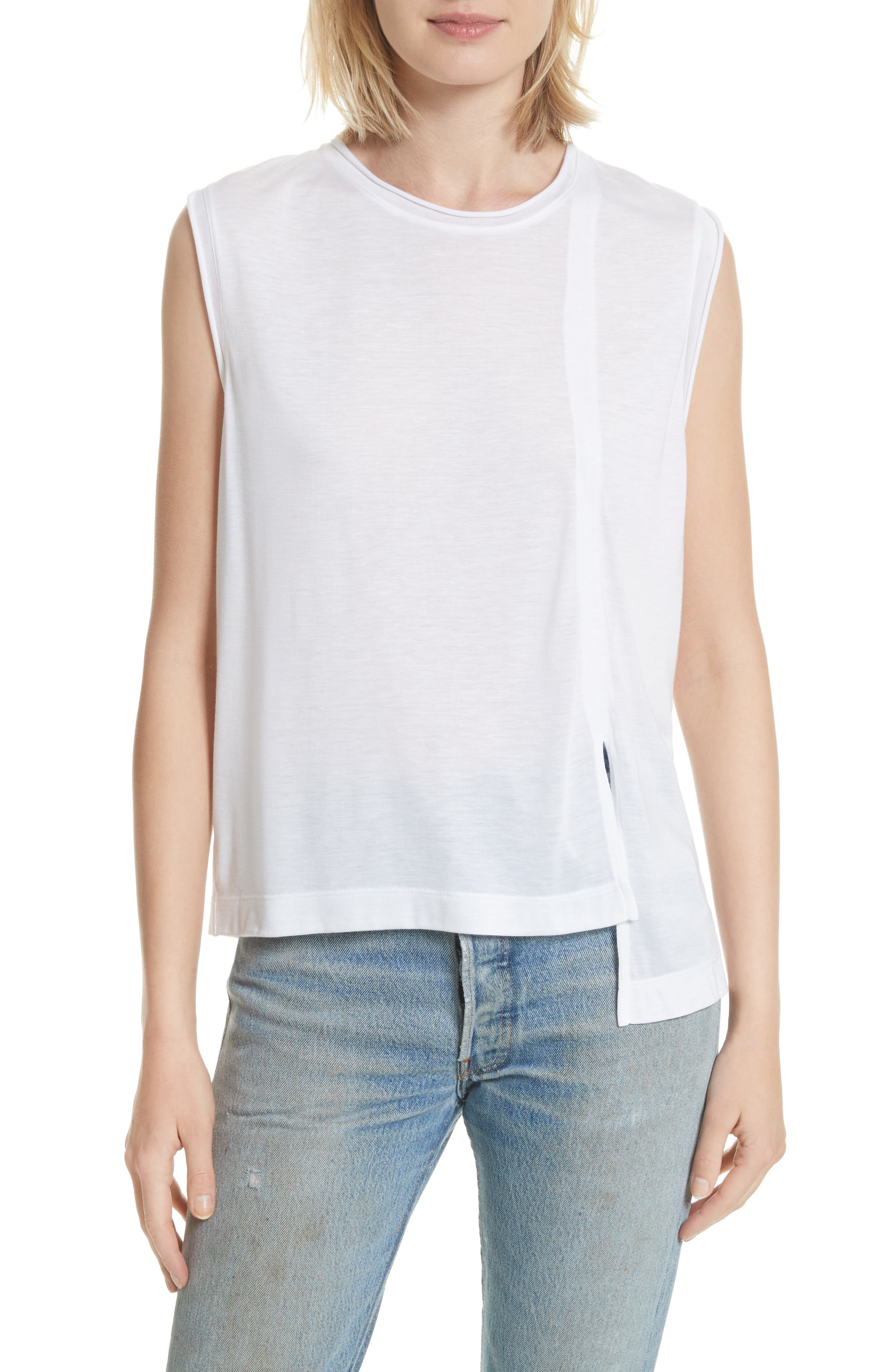 Perfect Muscle Tee,                         Main,                         color, 100